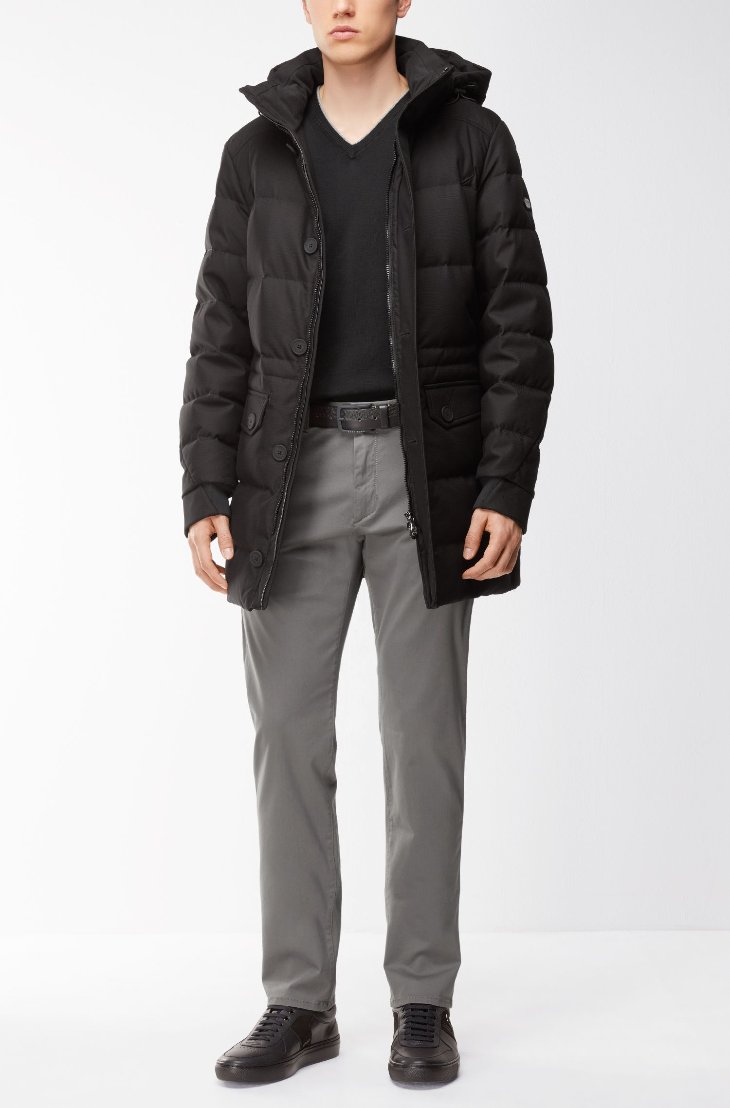 Hooded Parka | Jeer, Black