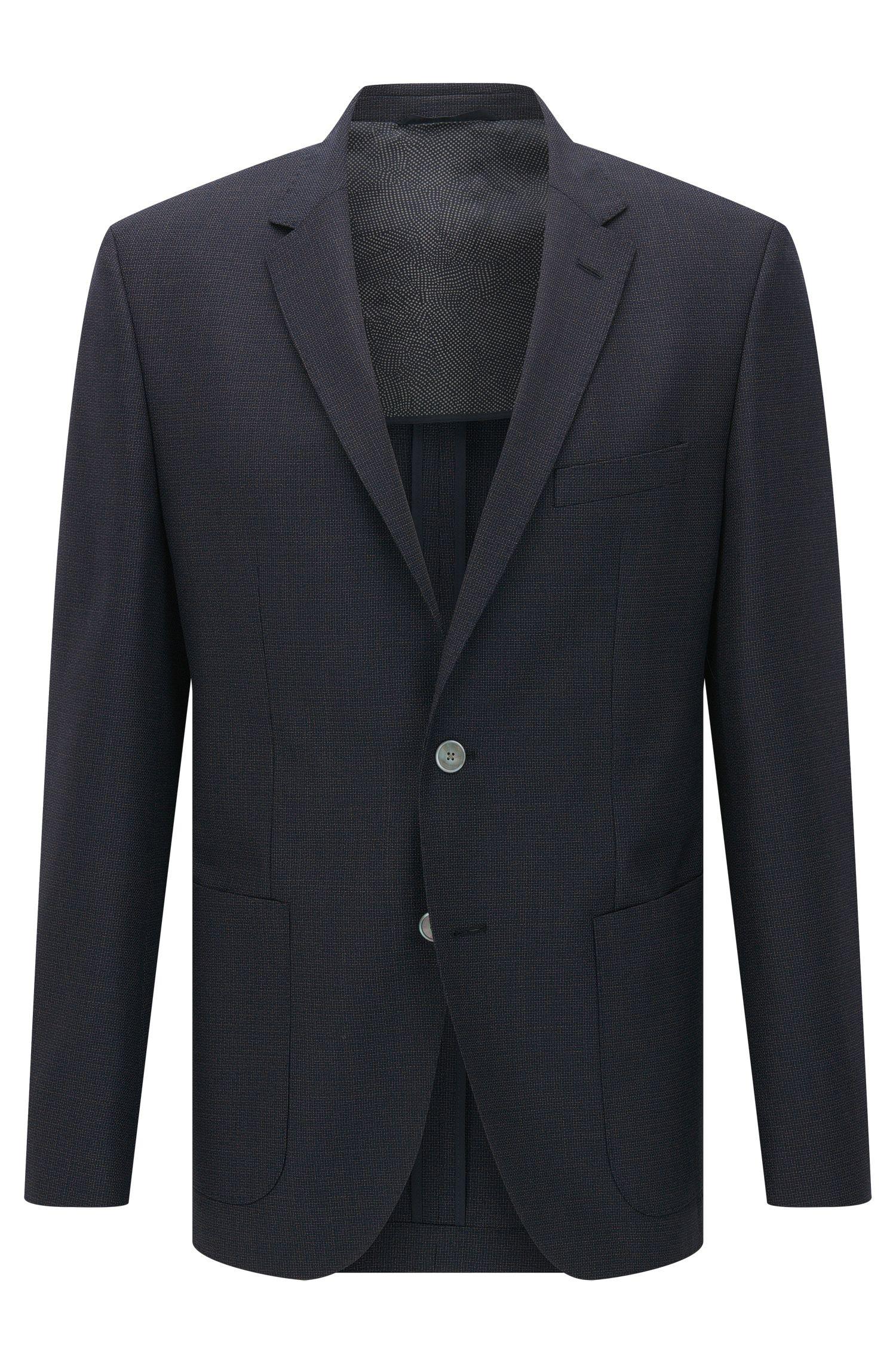 'Janson' | Regular Fit, Italian Super 120 Virgin Wool Sport Coat