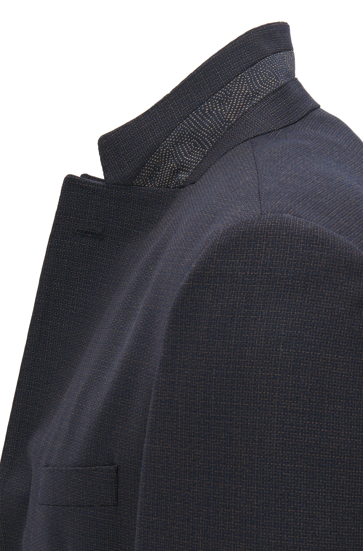 Italian Virgin Wool Sport Coat, Regular Fit | Janson