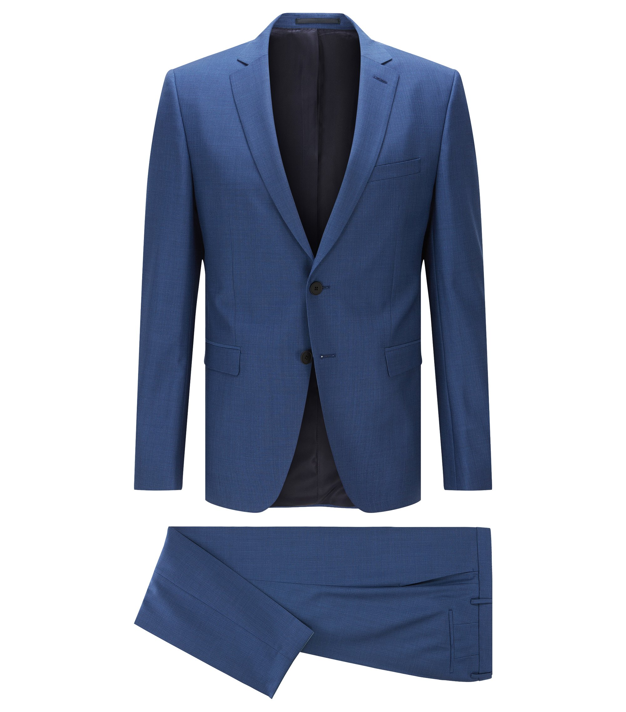Super 100 Wool Suit, Extra Slim Fit | Reymond/Wenton, Blue