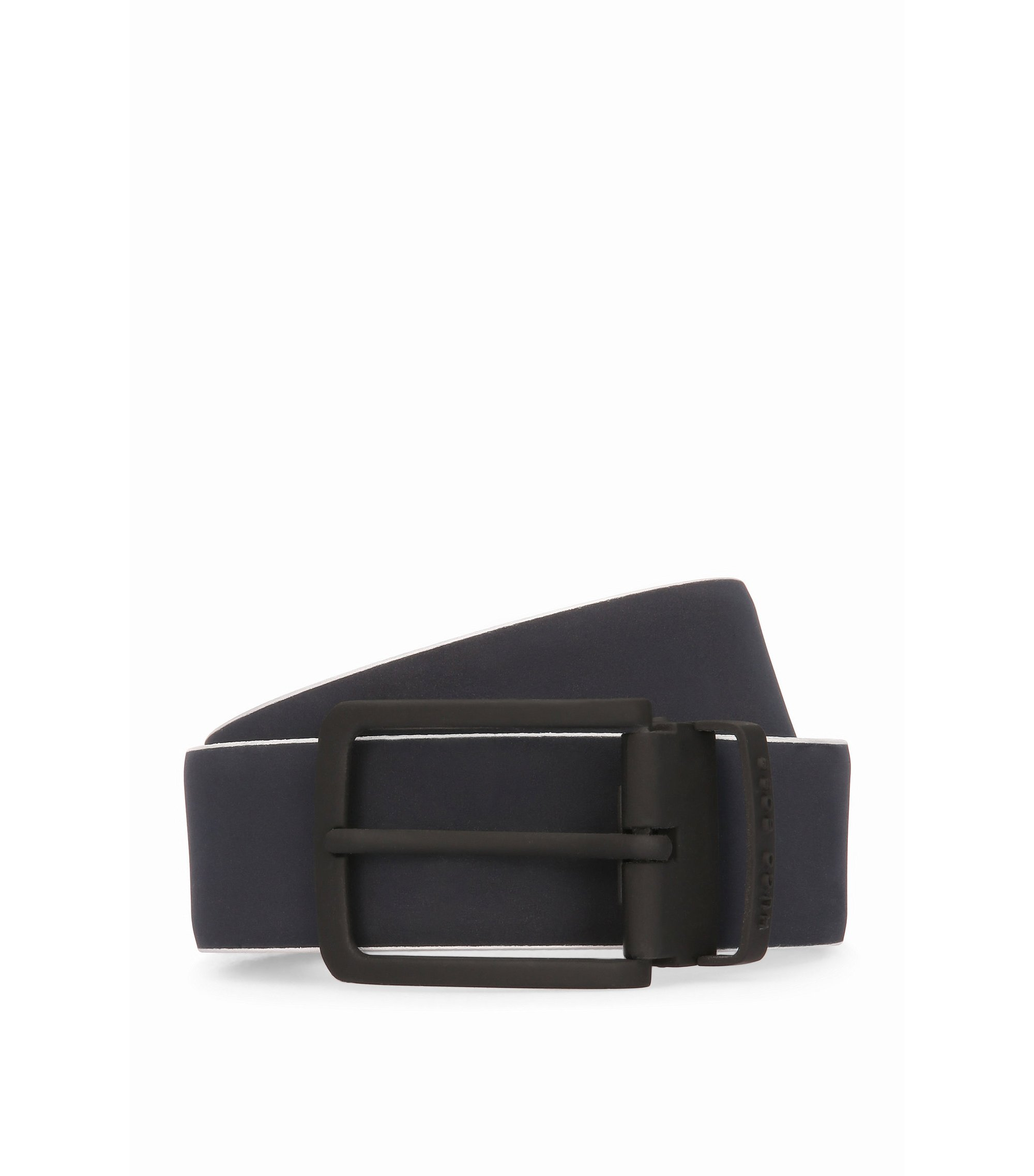 Leather Belt | Tobi Or35 PS, Dark Blue