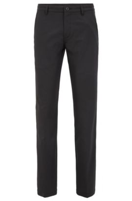 'Hakan 9' | Slim Fit, CoolMax Performance Golf Pants, Black