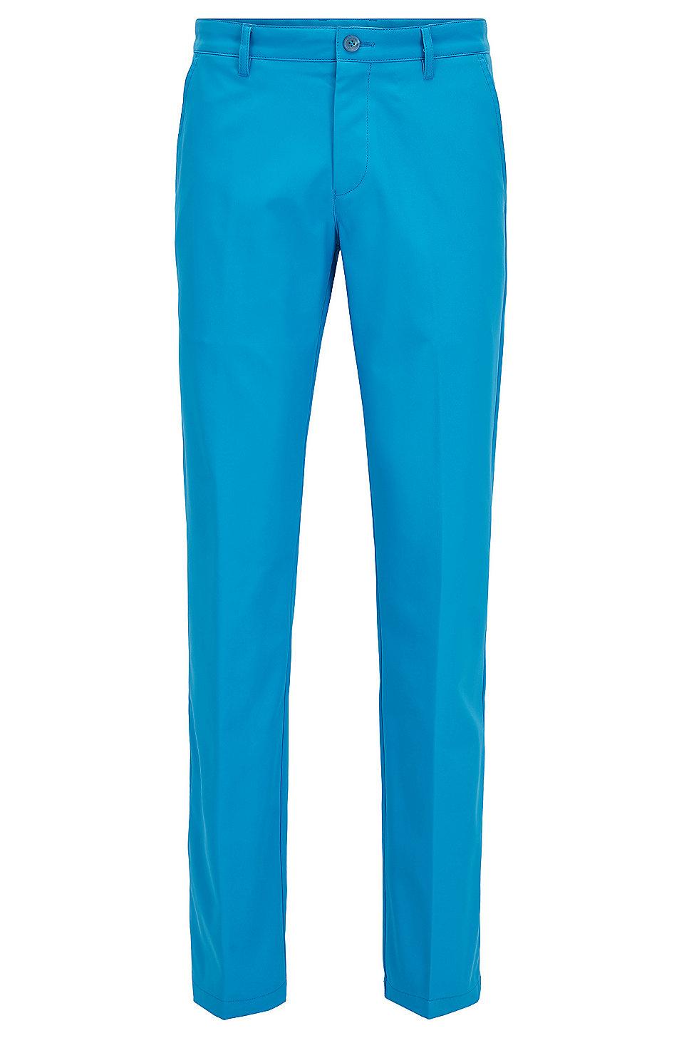 Boss Slim Fit Golf Pants In Technical Twill
