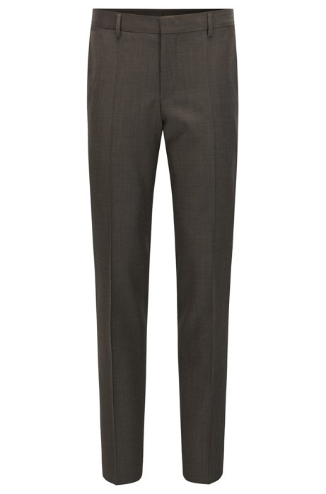 95fe01879a66 BOSS - Virgin Wool Dress Pant, Slim Fit | Balte