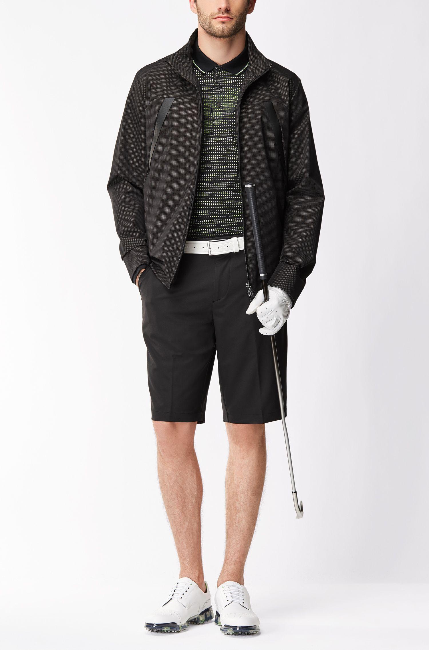 Woven Bermuda Short, Regular Fit | Hayler, Black
