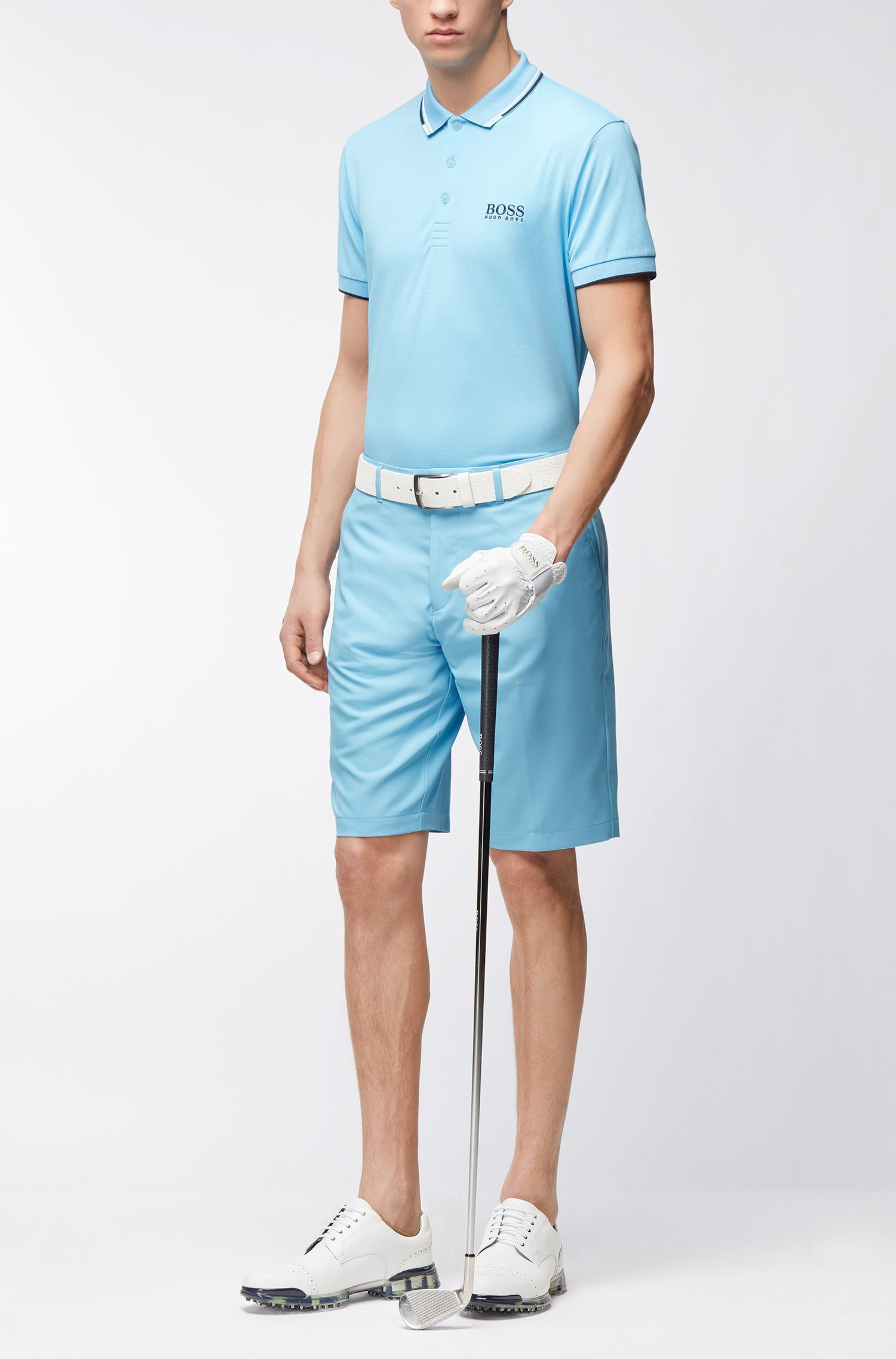 Woven Bermuda Short, Regular Fit | Hayler, Open Blue
