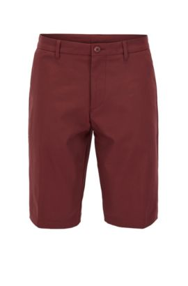 Woven Bermuda Short, Regular Fit | Hayler, Red