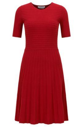 'Frida' | Italian Stretch Dress, Red
