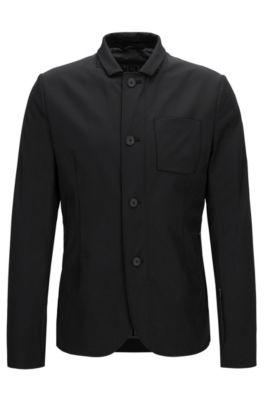 Nylon Travel Jacket | Ayvon BS, Black