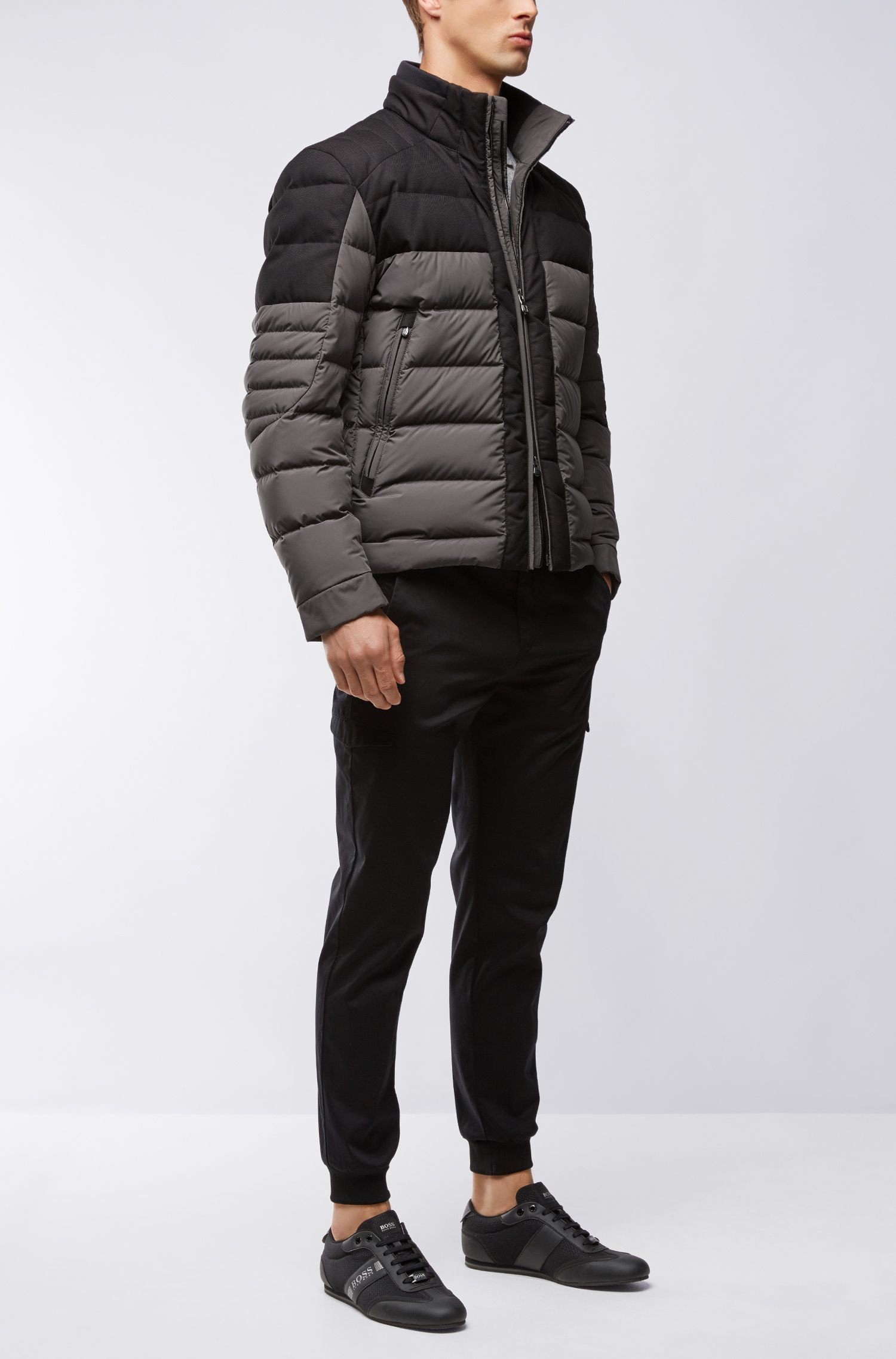 Nylon Quilted Jacket | Jonkins