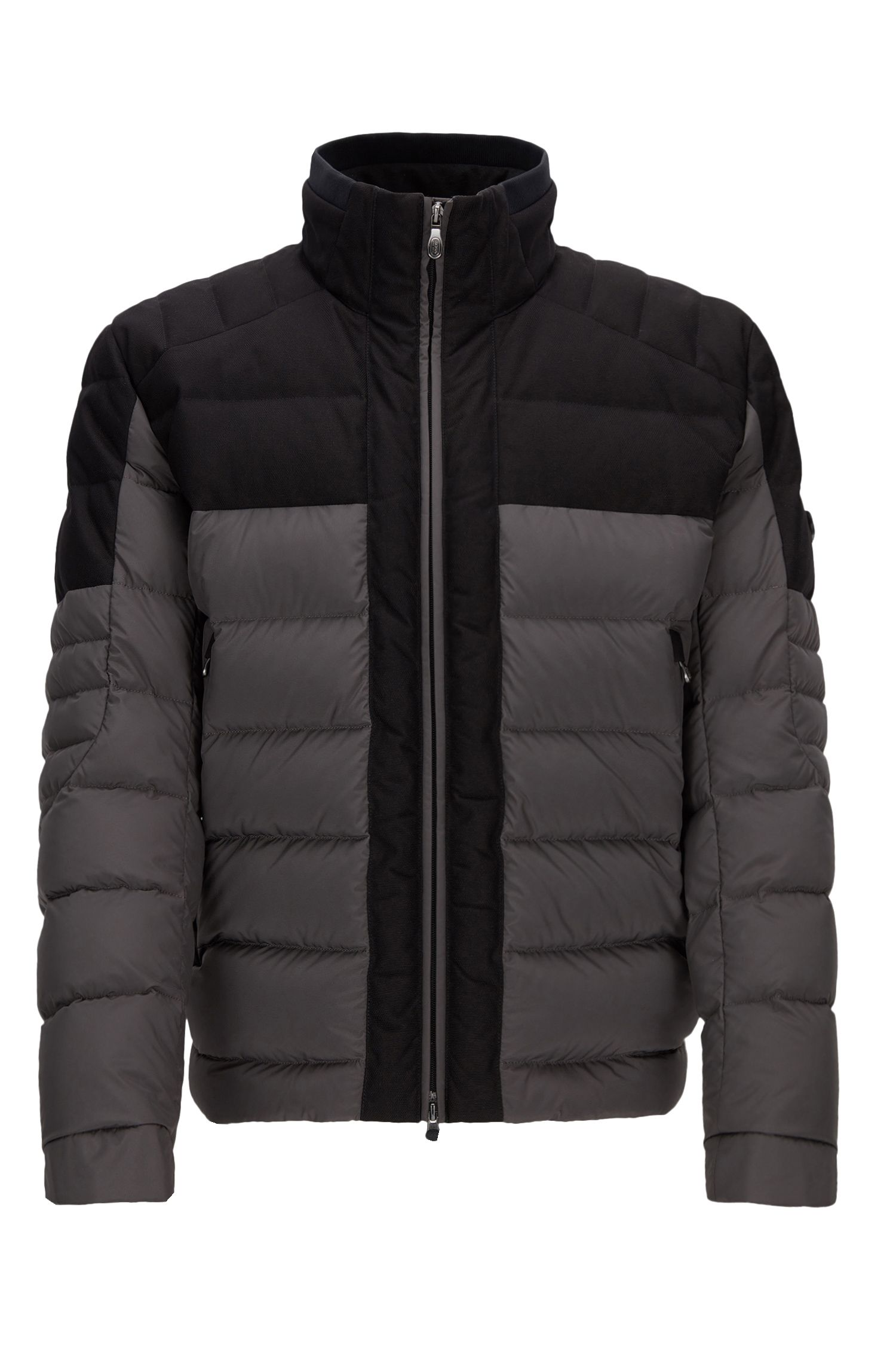 Nylon Quilted Jacket | Jonkins