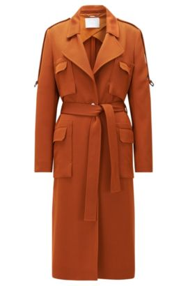 Trench Coat | Cavana, Brown
