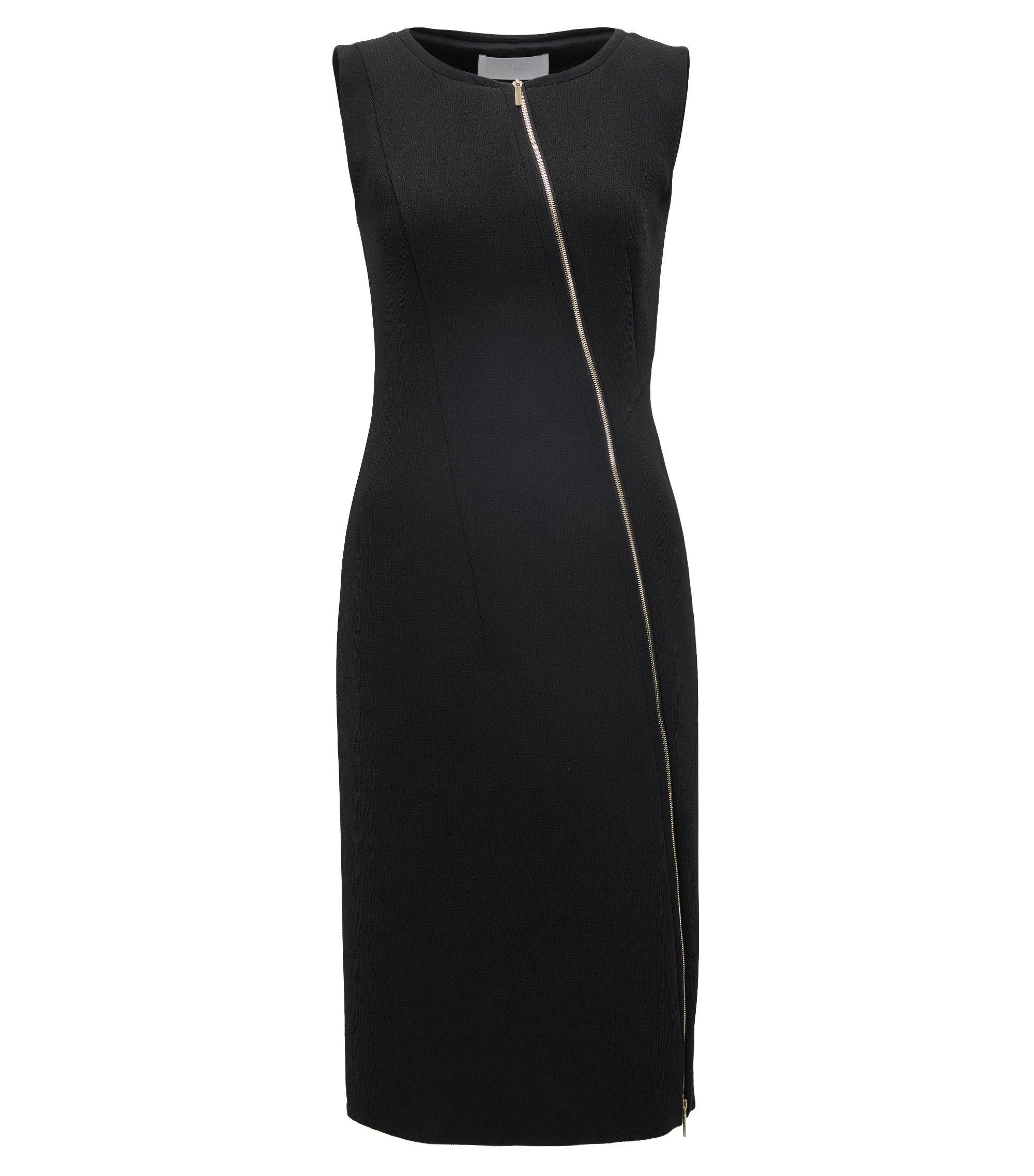 Stretch Sheath Dress | Danafea, Black