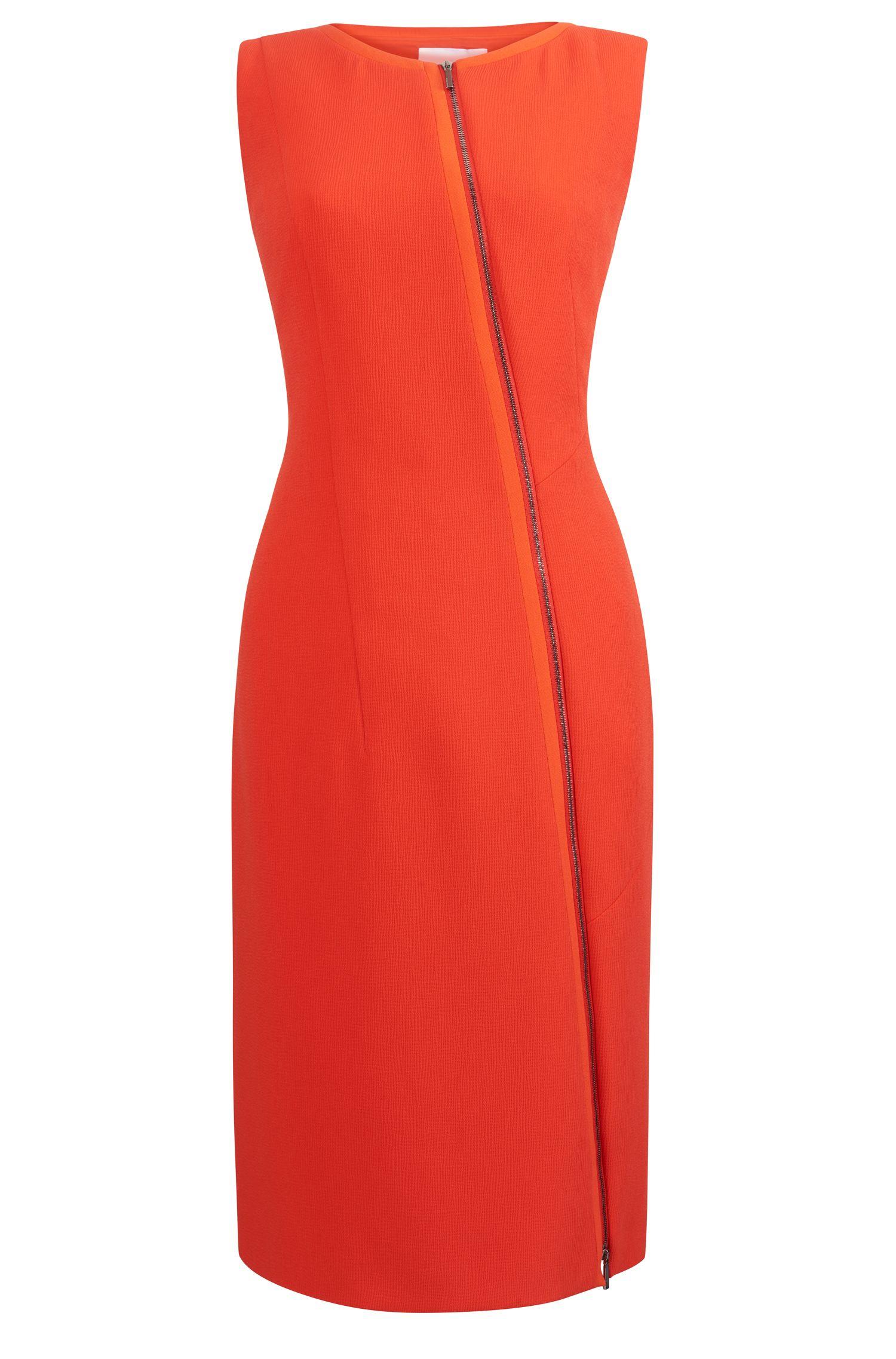 Stretch Sheath Dress | Danafea, Red