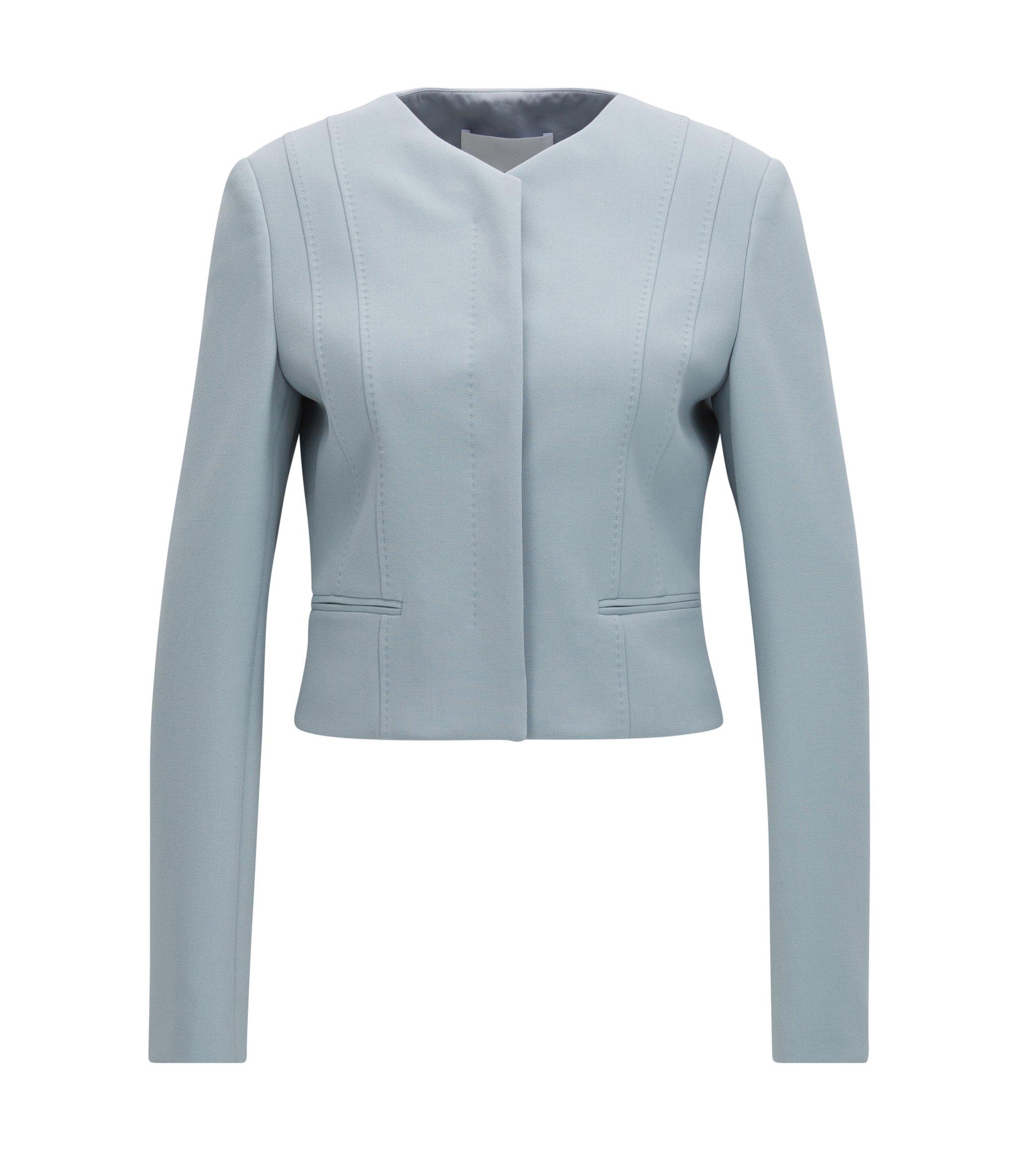 Short Jacket | Jepara, Open Grey