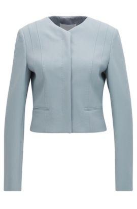 'Jepara' | Short Jacket, Open Grey