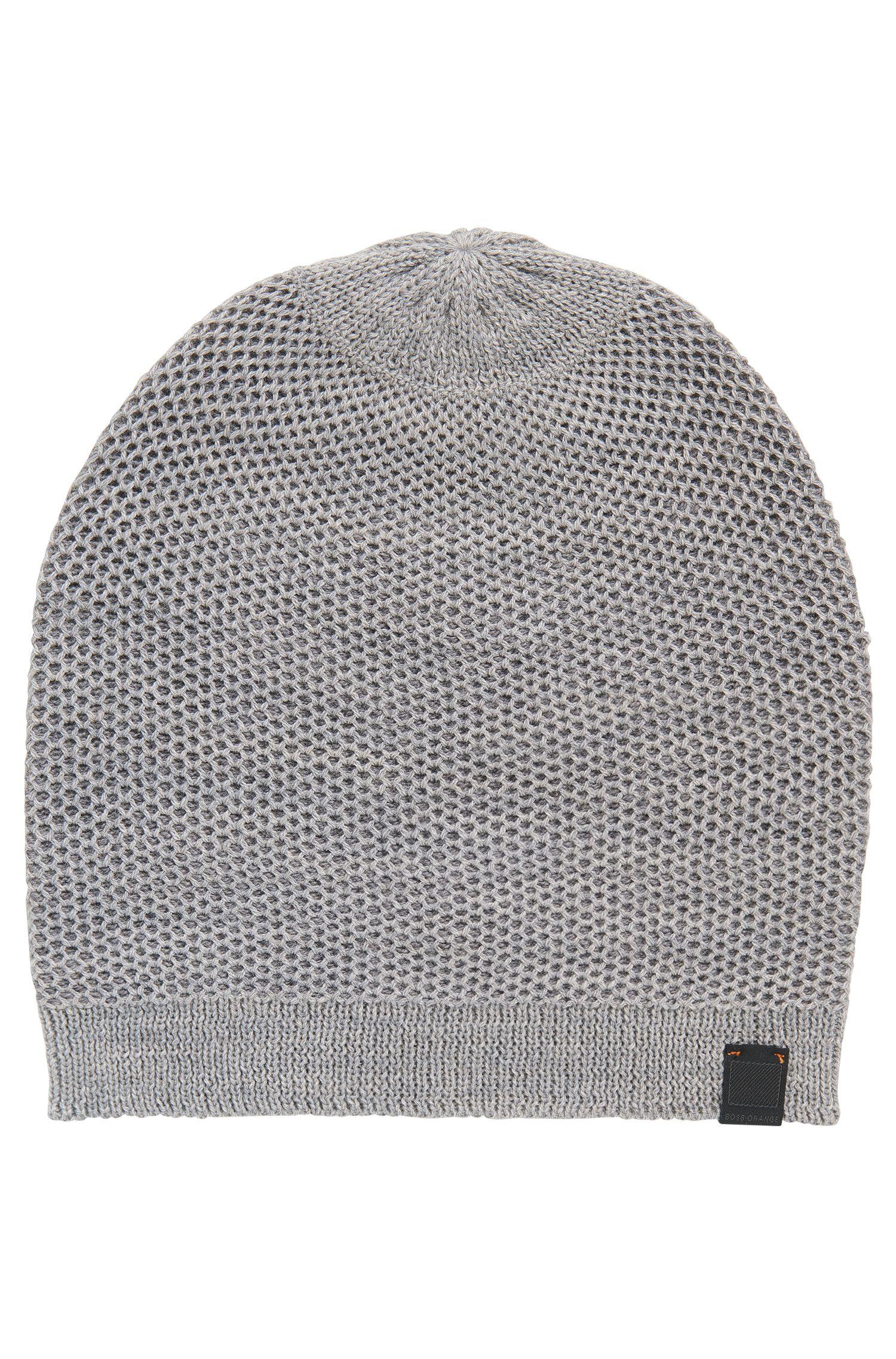 'Franek' | Wool Blend Knit Beanie