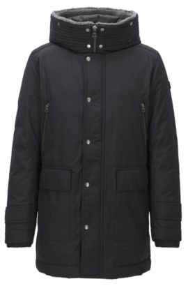 Water-Repellent Down Parka | Olsan, Black