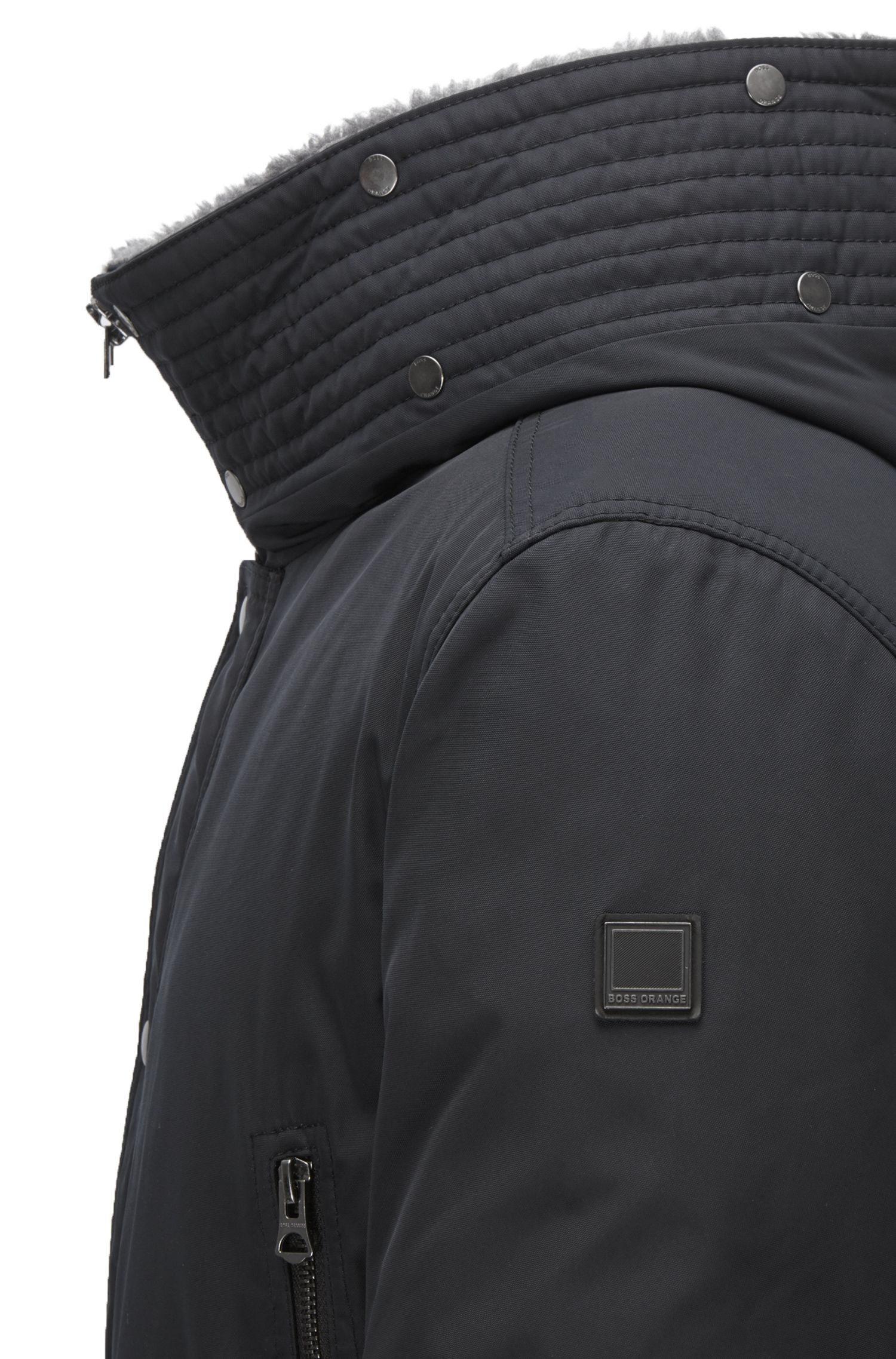 Water-Repellent Down Parka | Olsan