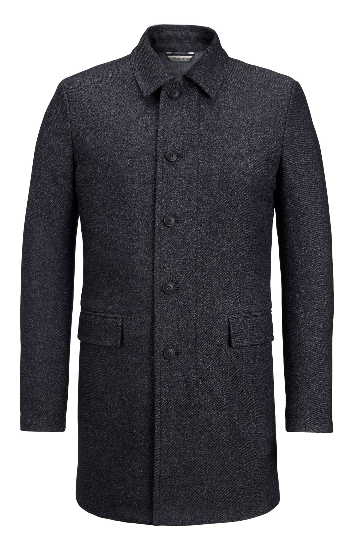 Water-Repellent Twill Coat | Barent