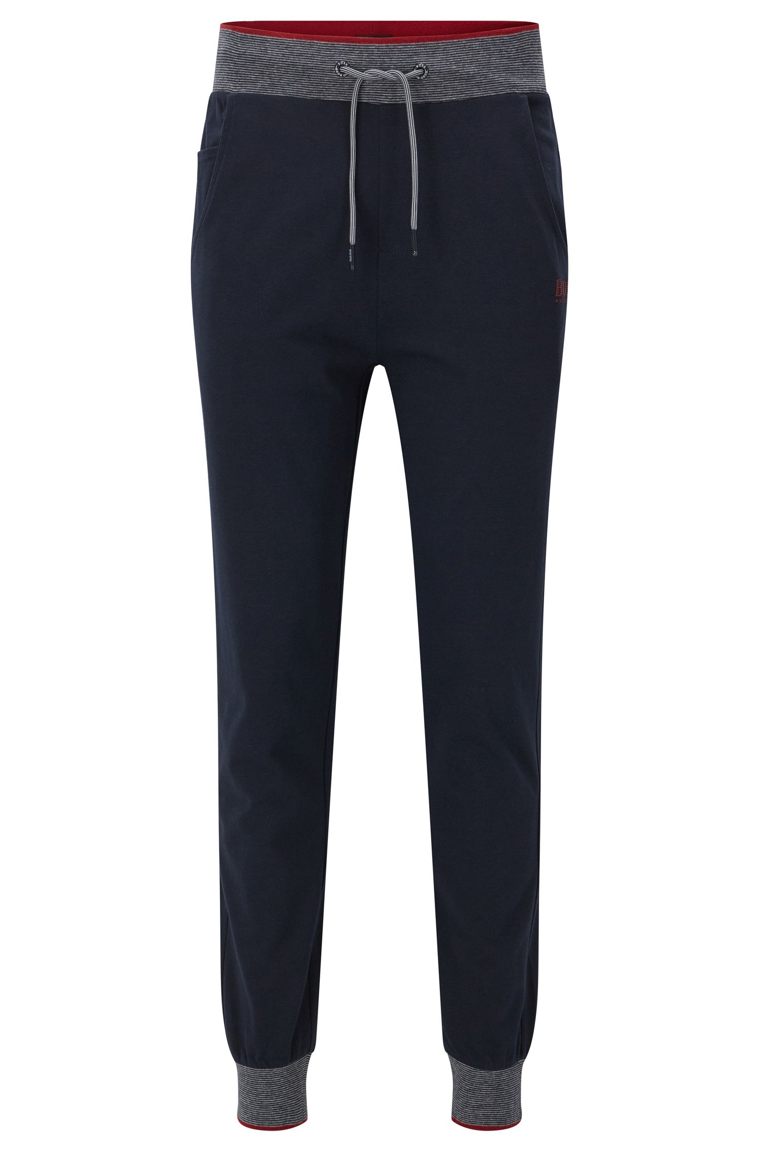 Cotton Jersey Lounge Pants | Long Pant Cuffs