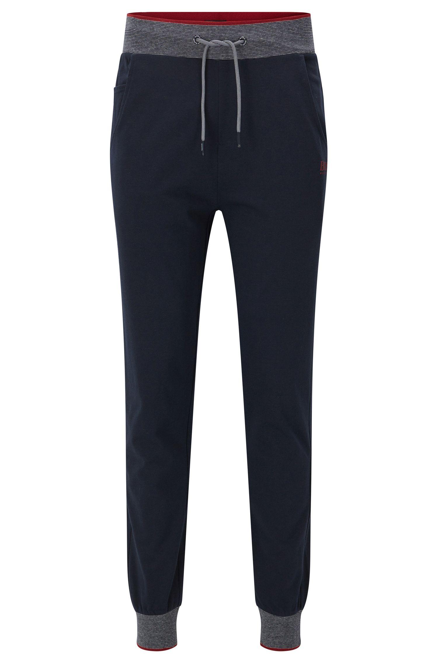 Cotton Jersey Lounge Pants | Long Pant Cuffs