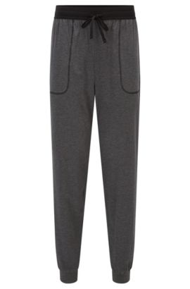 Stretch Cotton Sweat Pants | Long Pant CW Cuffs, Charcoal