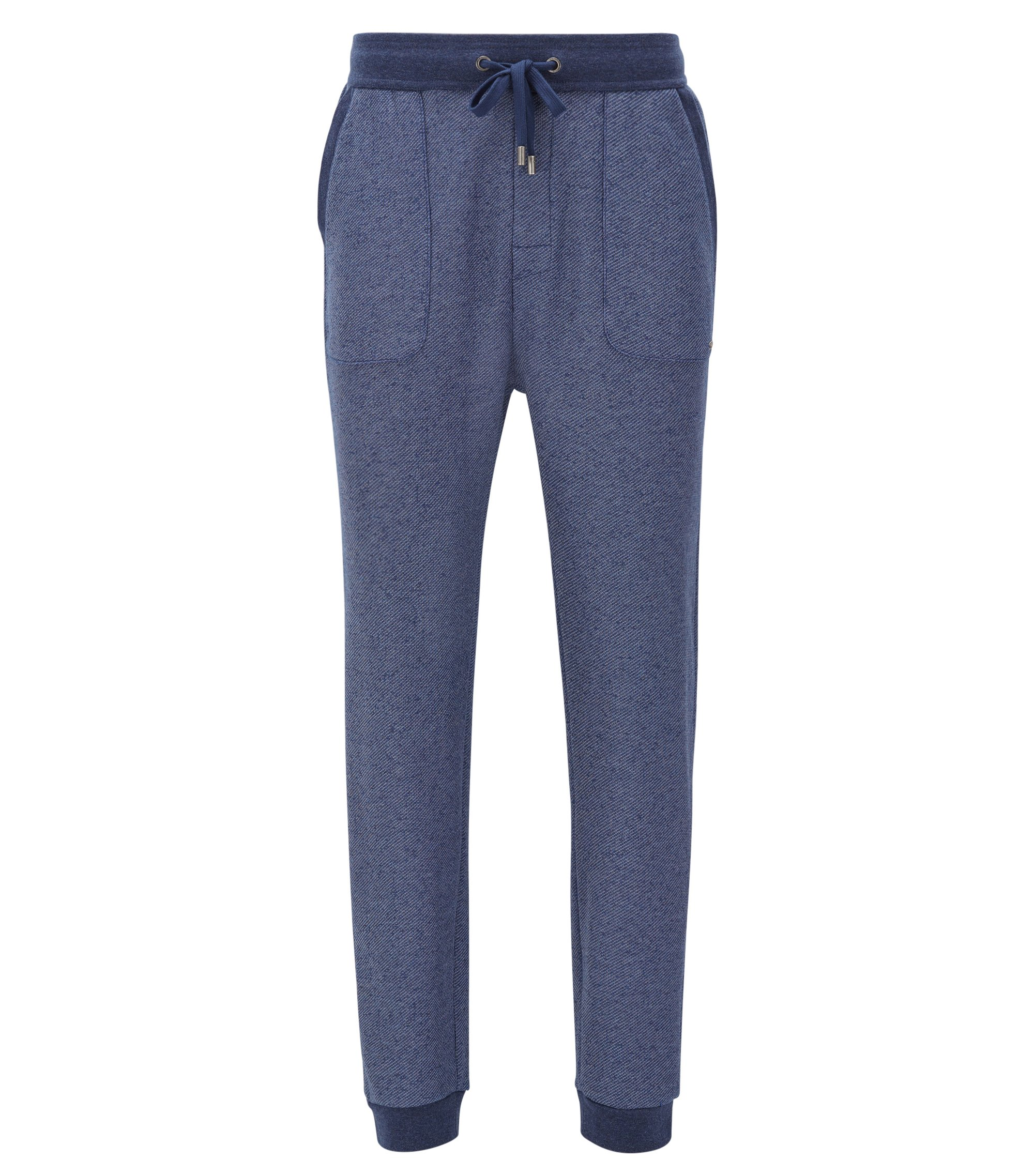 Jersey Sweatpants | Long Pant Cuffs, Dark Blue