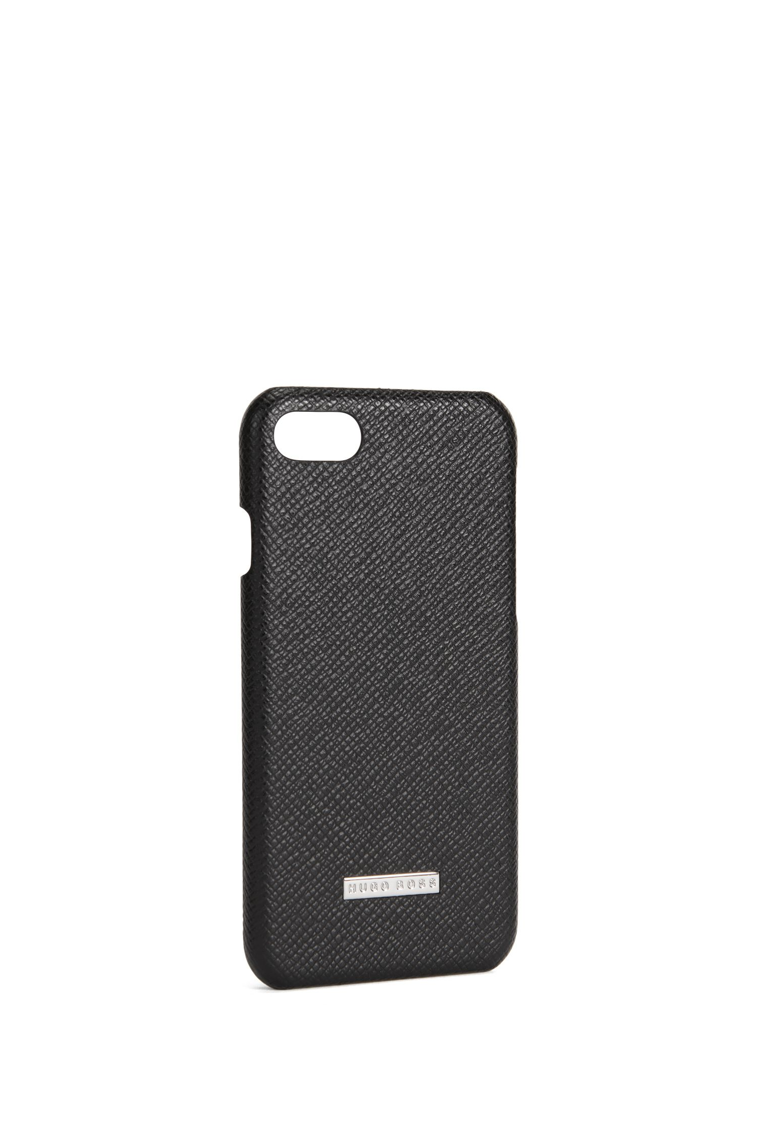 Embossed leather iPhone 7 Case   Signature Phone 7
