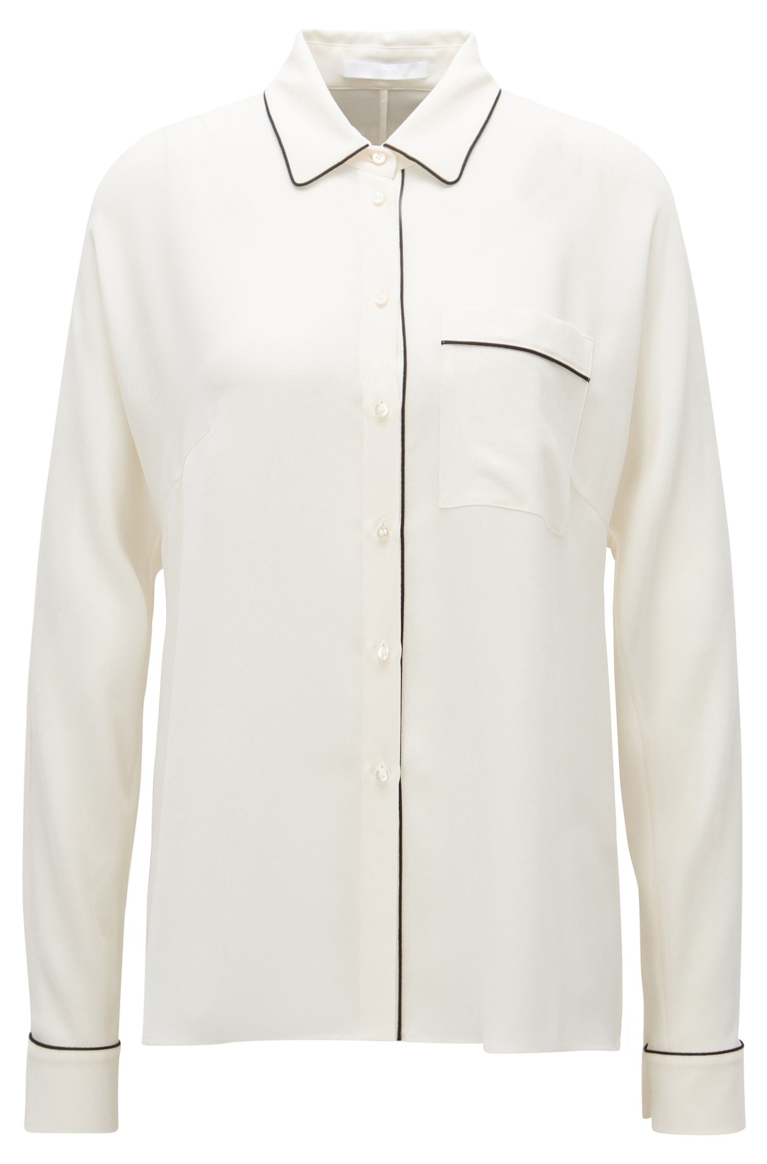 'Benisa' | Piped Blouse