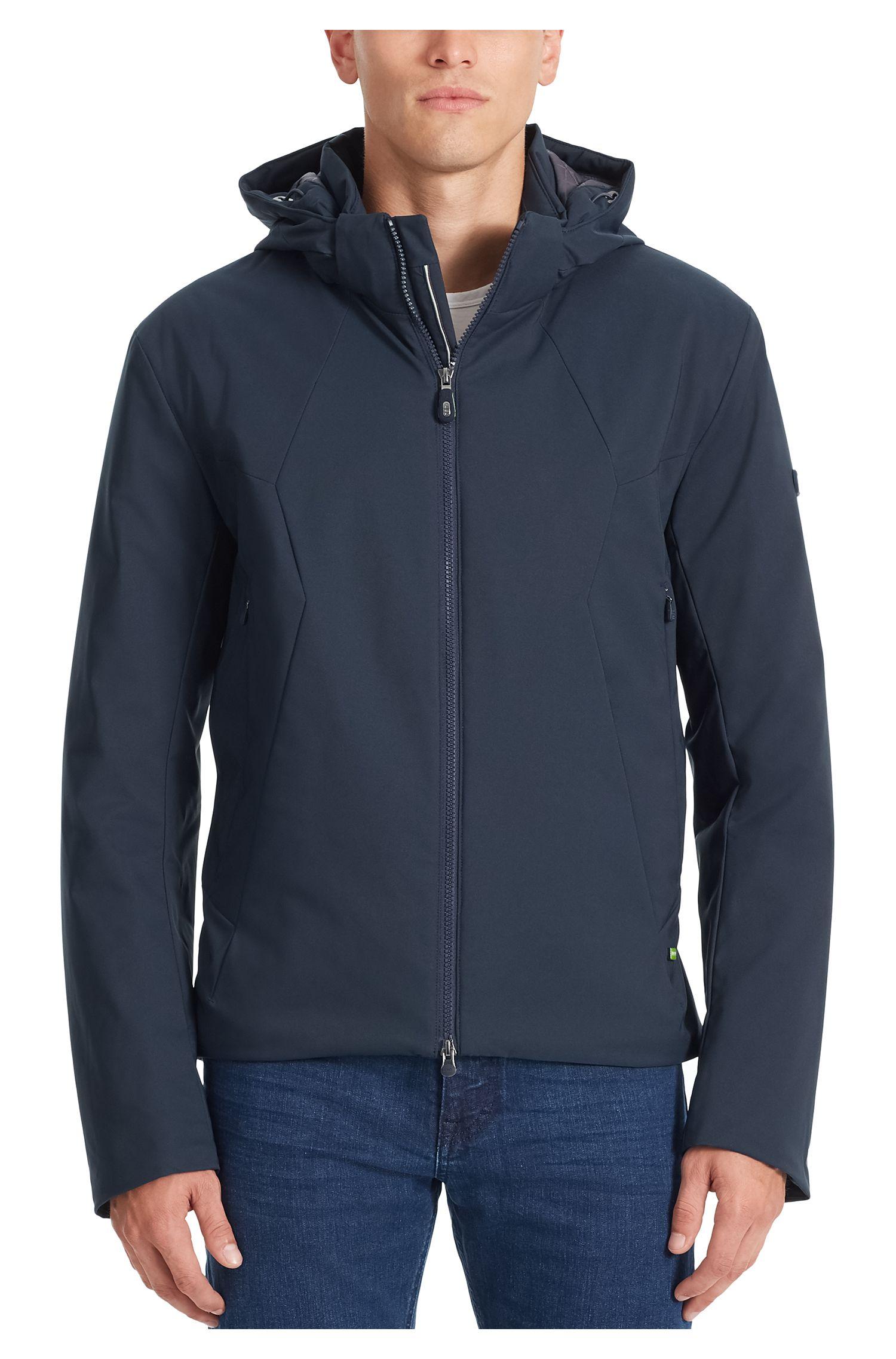 Water-Repellent Jacket | Jadd, Dark Blue