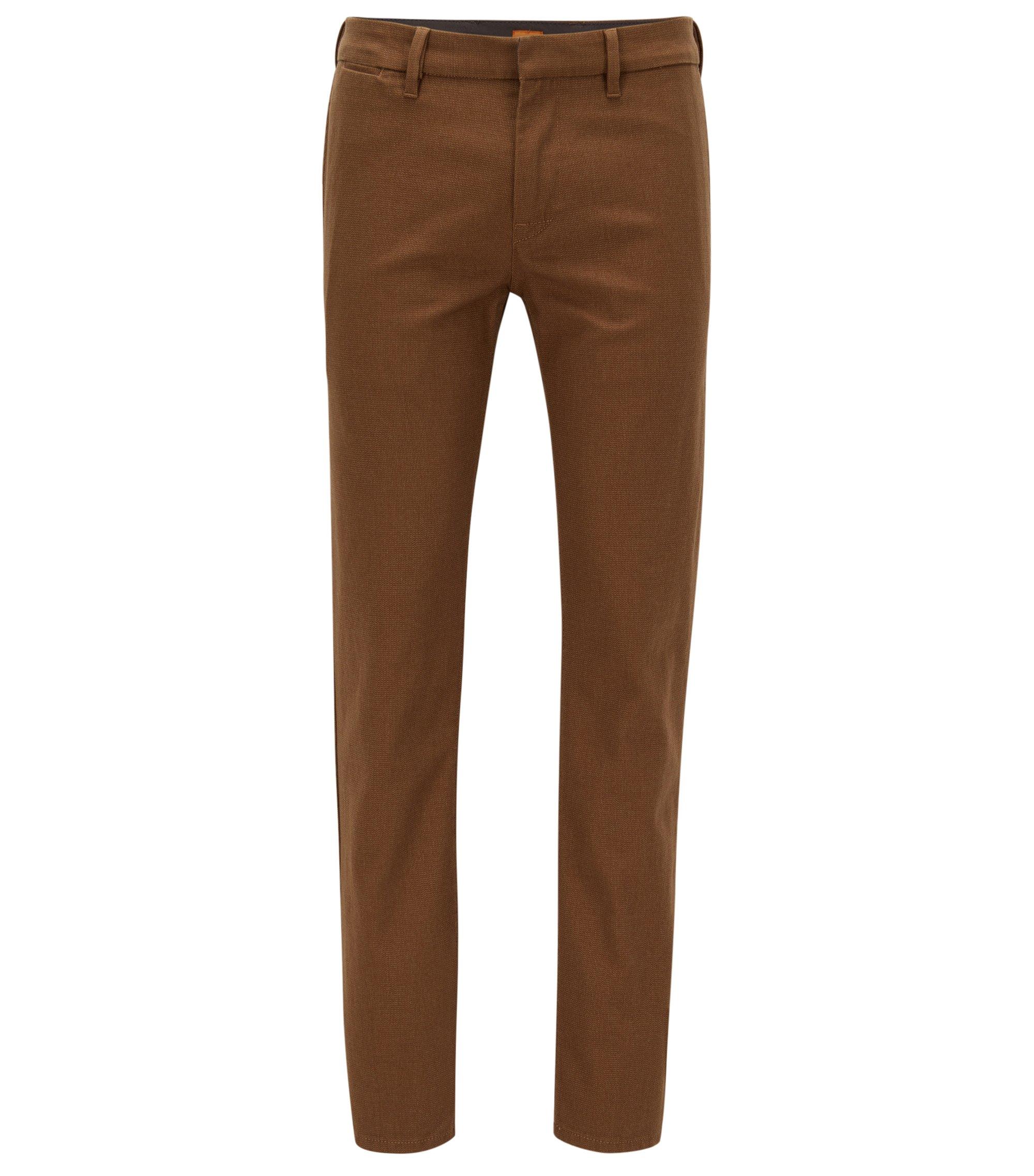Stretch Cotton Pant, Slim Fit | Slim W, Open Beige