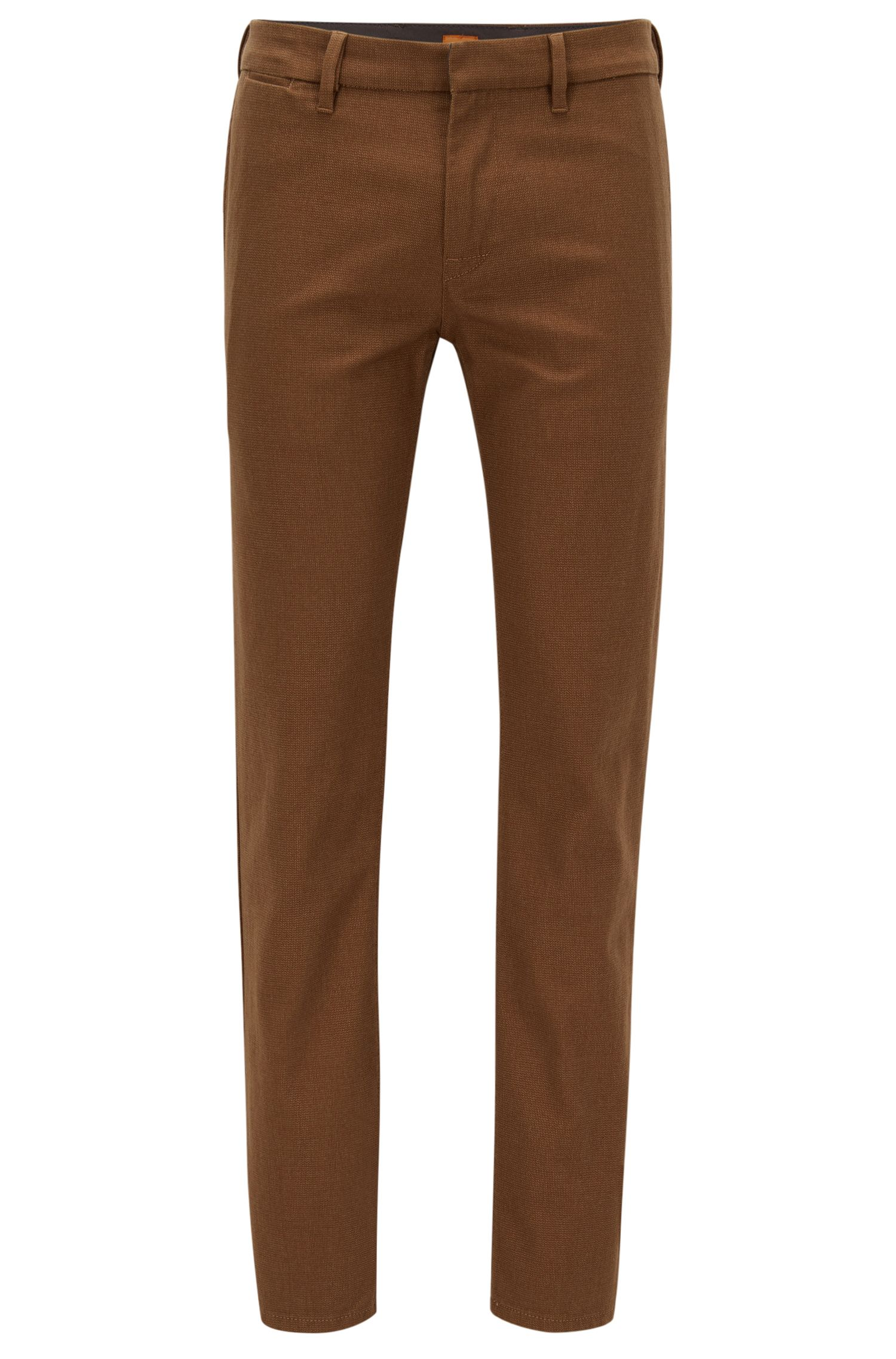 Stretch Cotton Pant, Slim Fit | Slim W, Open Beige