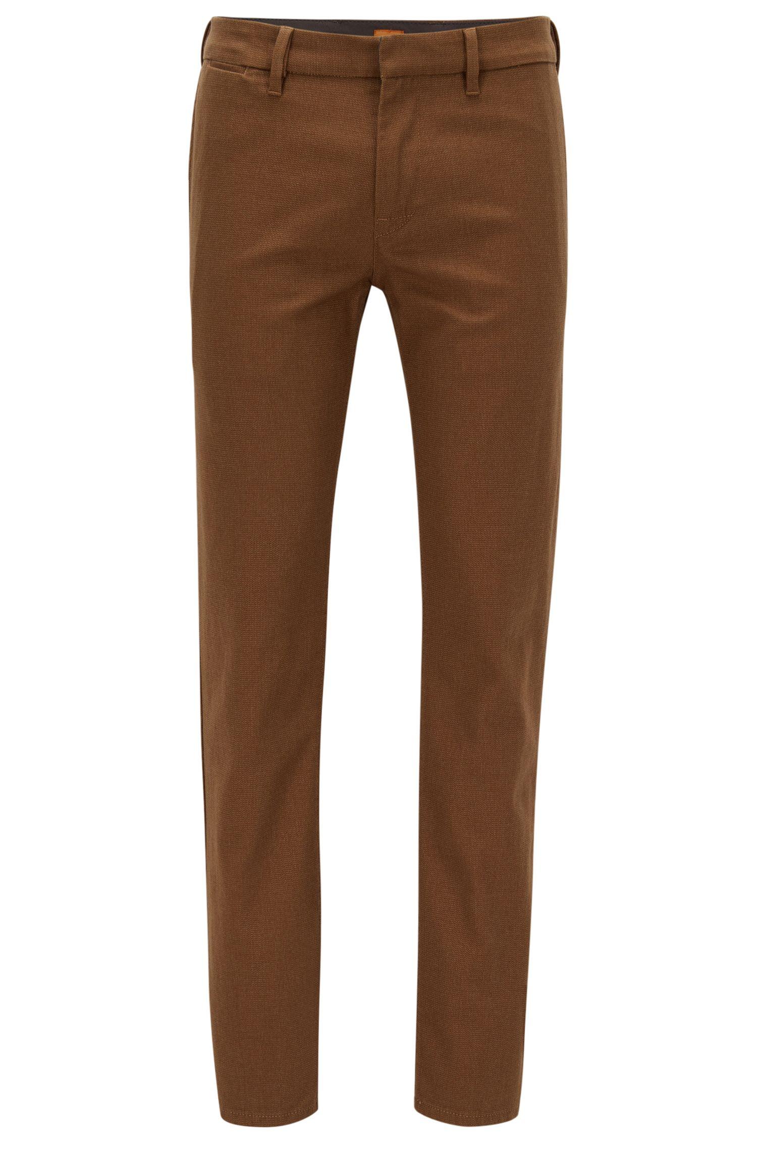 Stretch Cotton Pant, Slim Fit | Slim W
