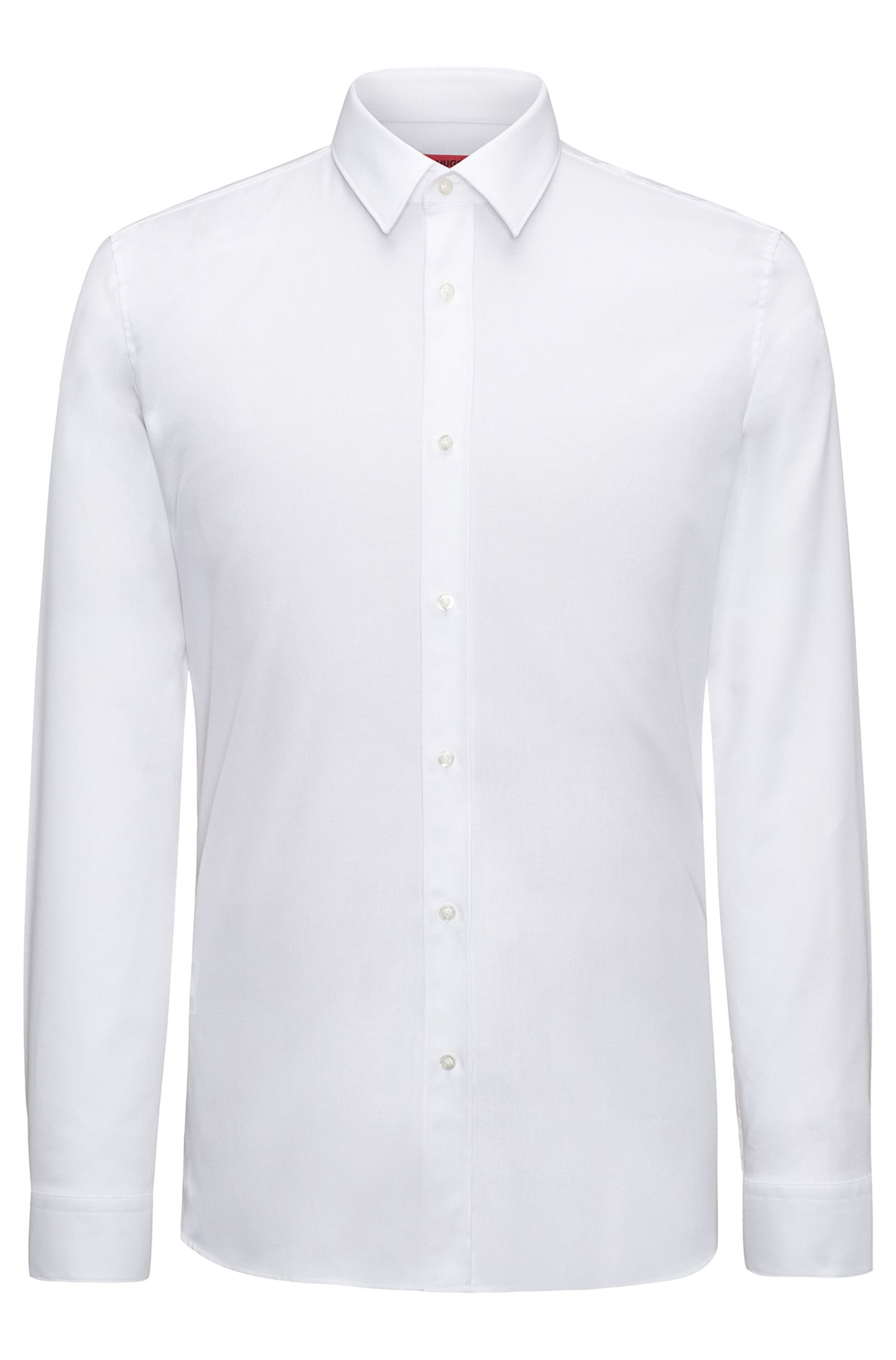 Herringbone Dress Shirt, Extra Slim Fit | Elisha