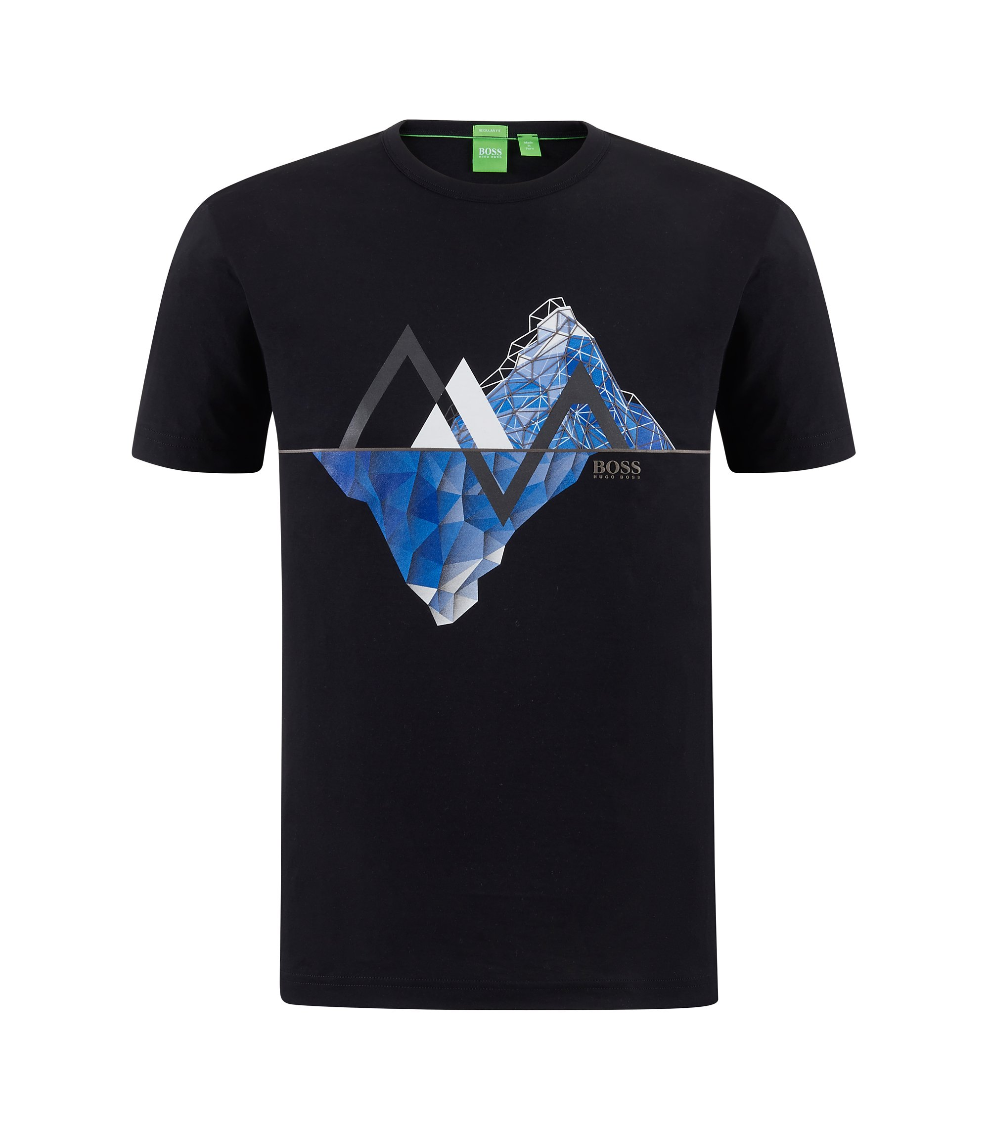Cotton Graphic T-Shirt | Tee, White