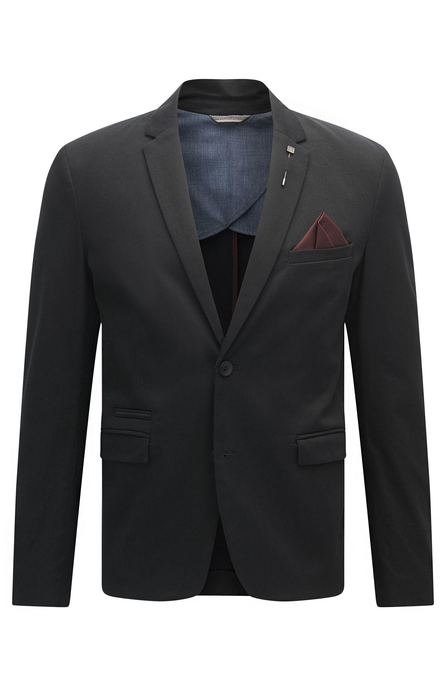 Stretch Cotton Sport Coat, Slim Fit   Beric