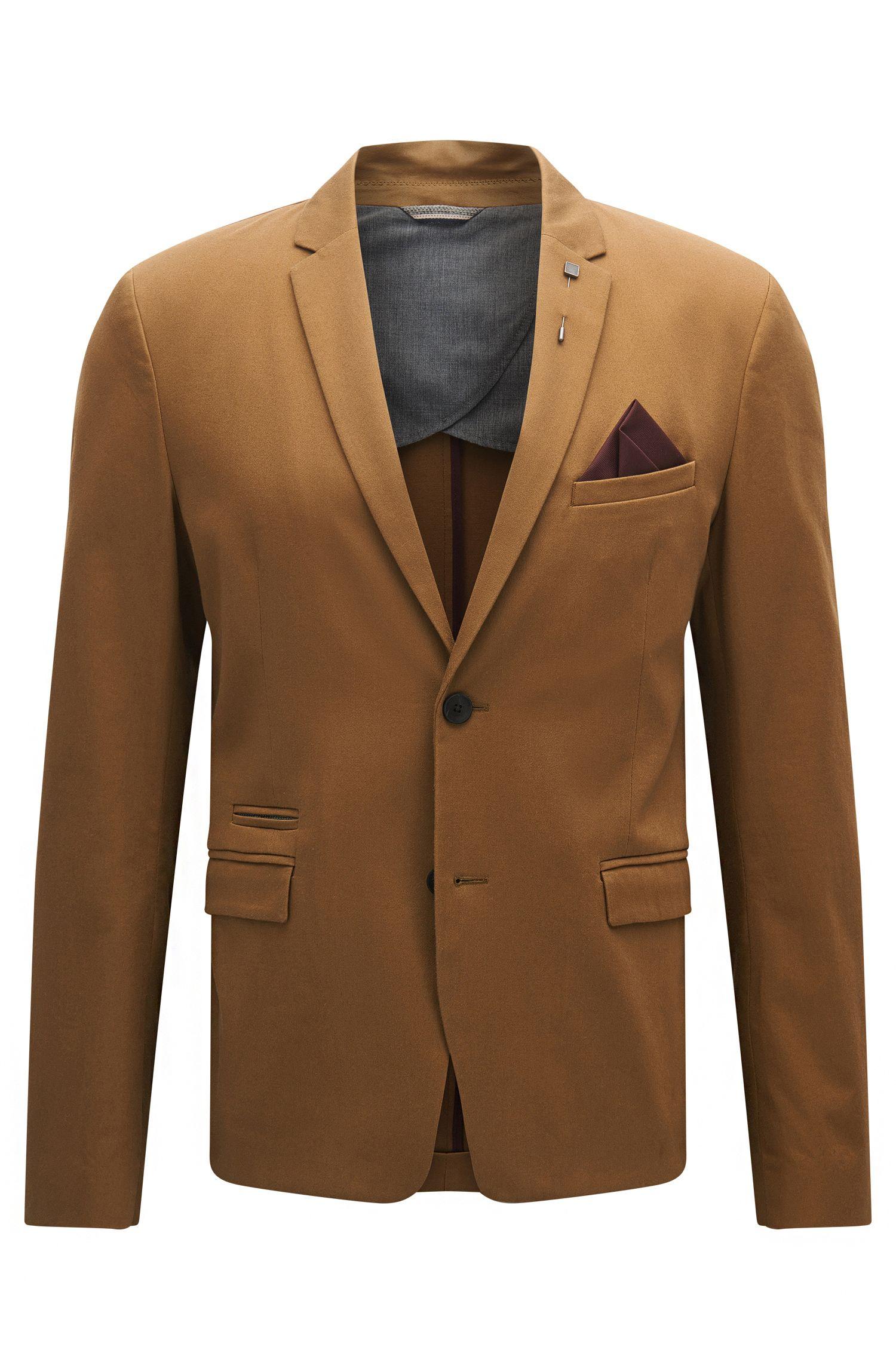 Stretch Cotton Sport Coat, Slim Fit | Beric