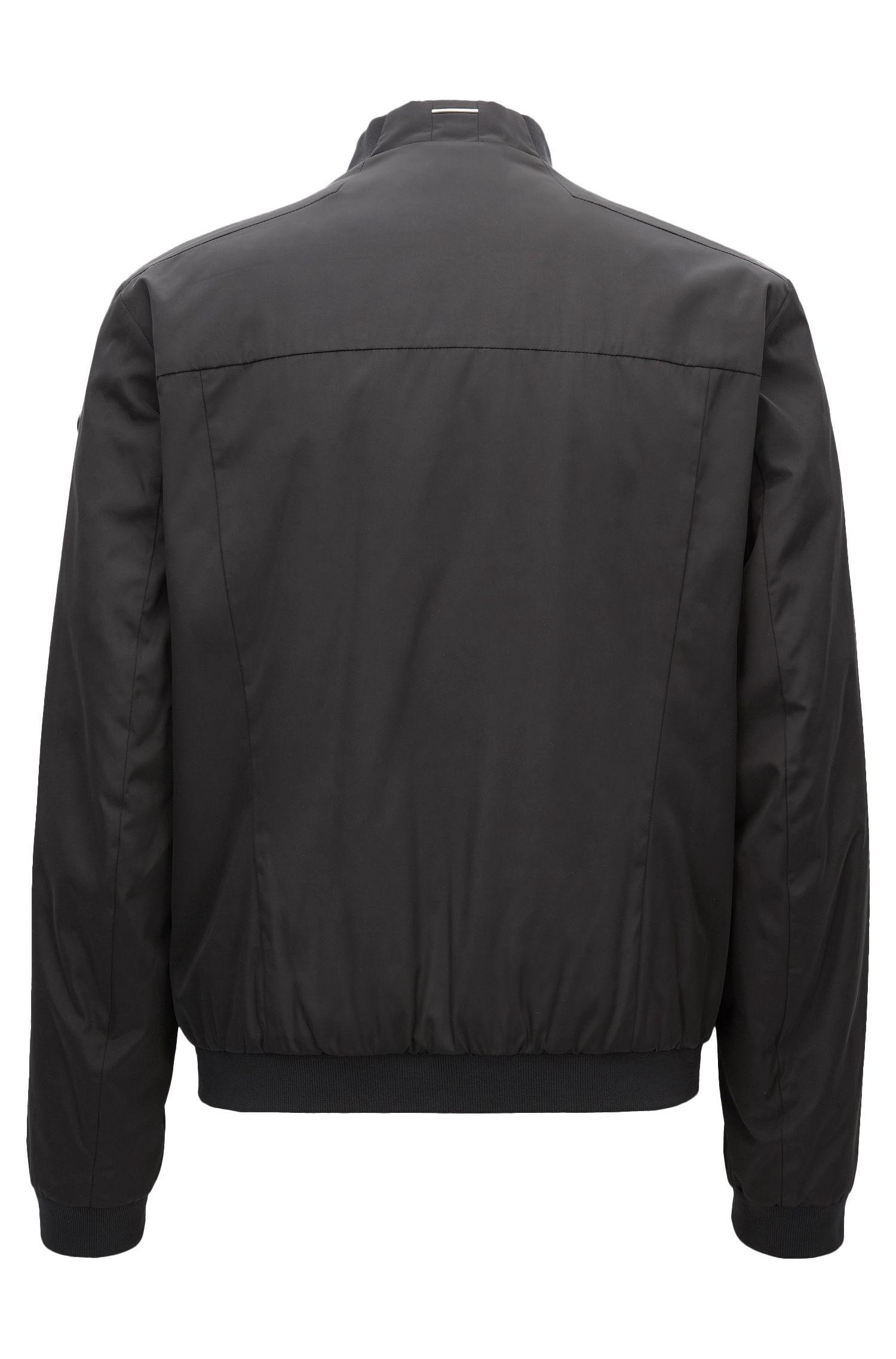 Nylon Bomber Jacket | Jomber, Black