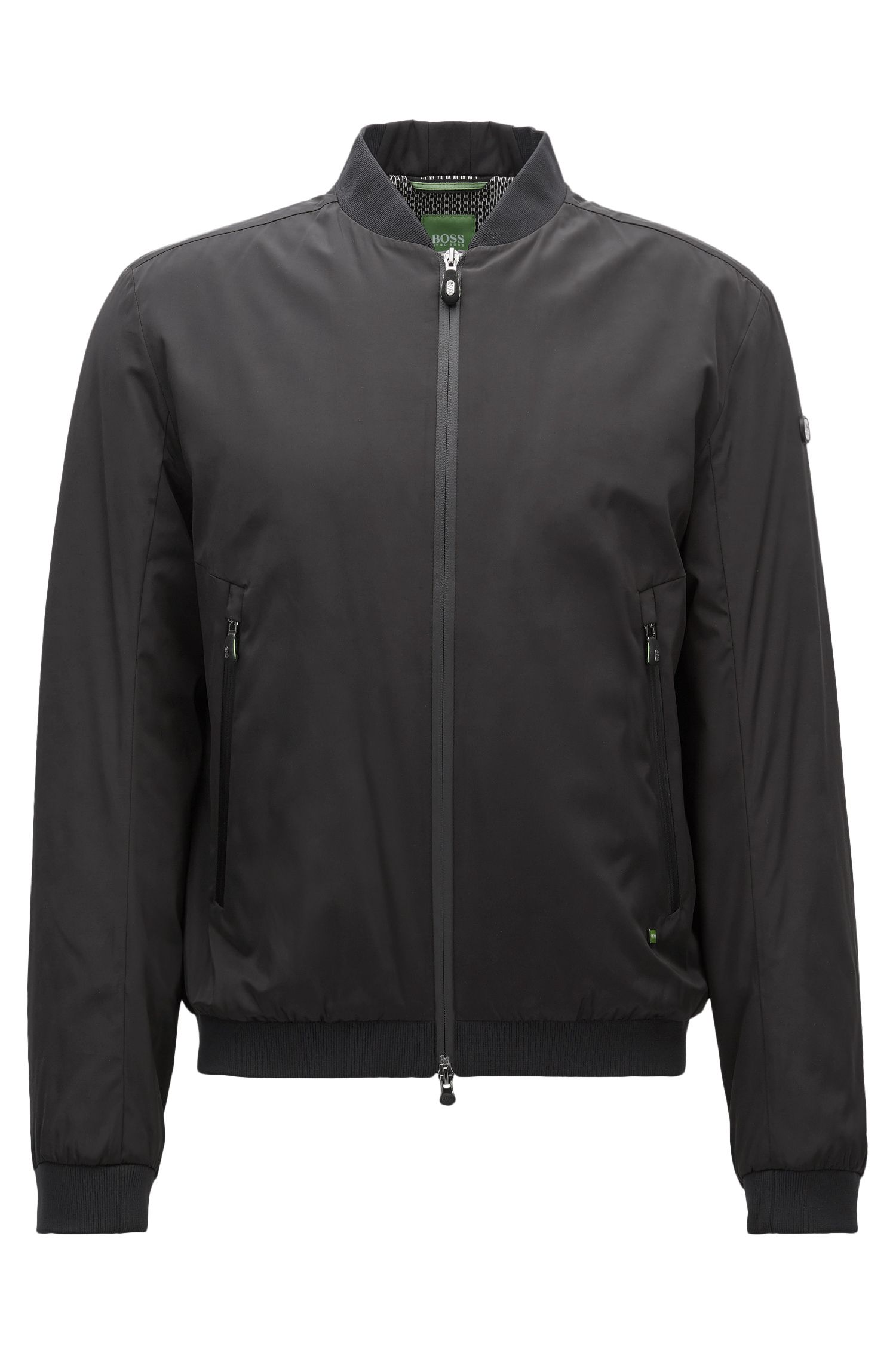 Nylon Bomber Jacket | Jomber
