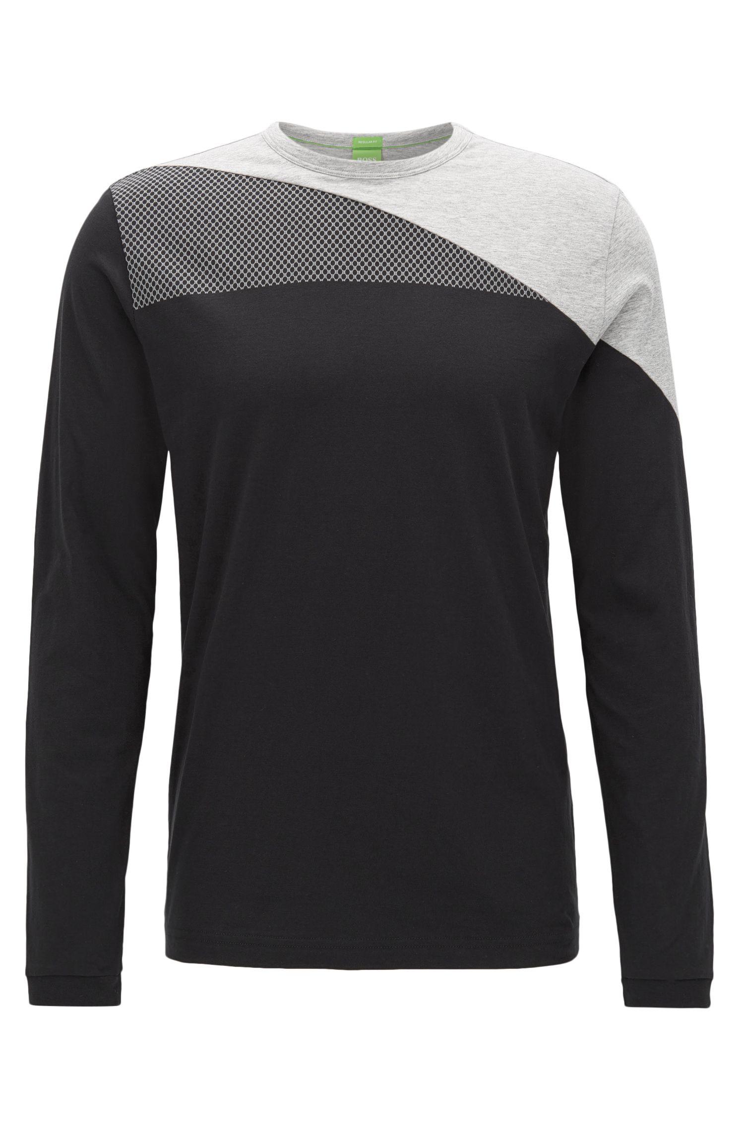 Stretch Cotton Logo Print T-Shirt   Togn