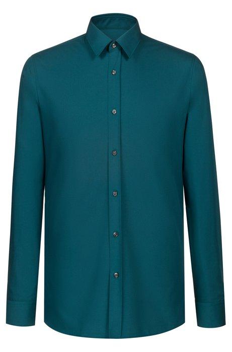 82a9de45846f Extra-slim-fit shirt in cotton poplin. Elisha01 - 50372533