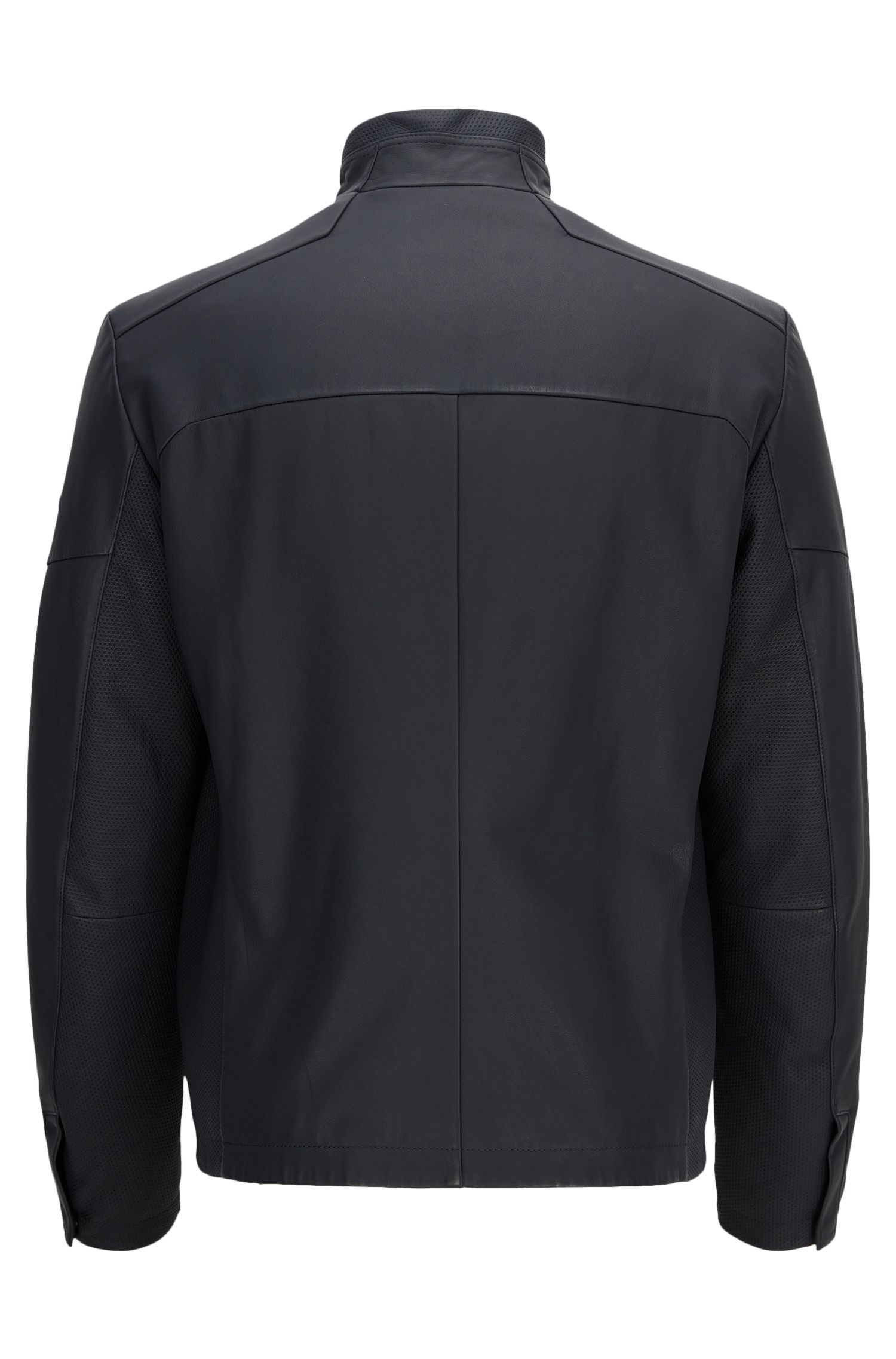 Lambskin Leather Jacket | Jayven