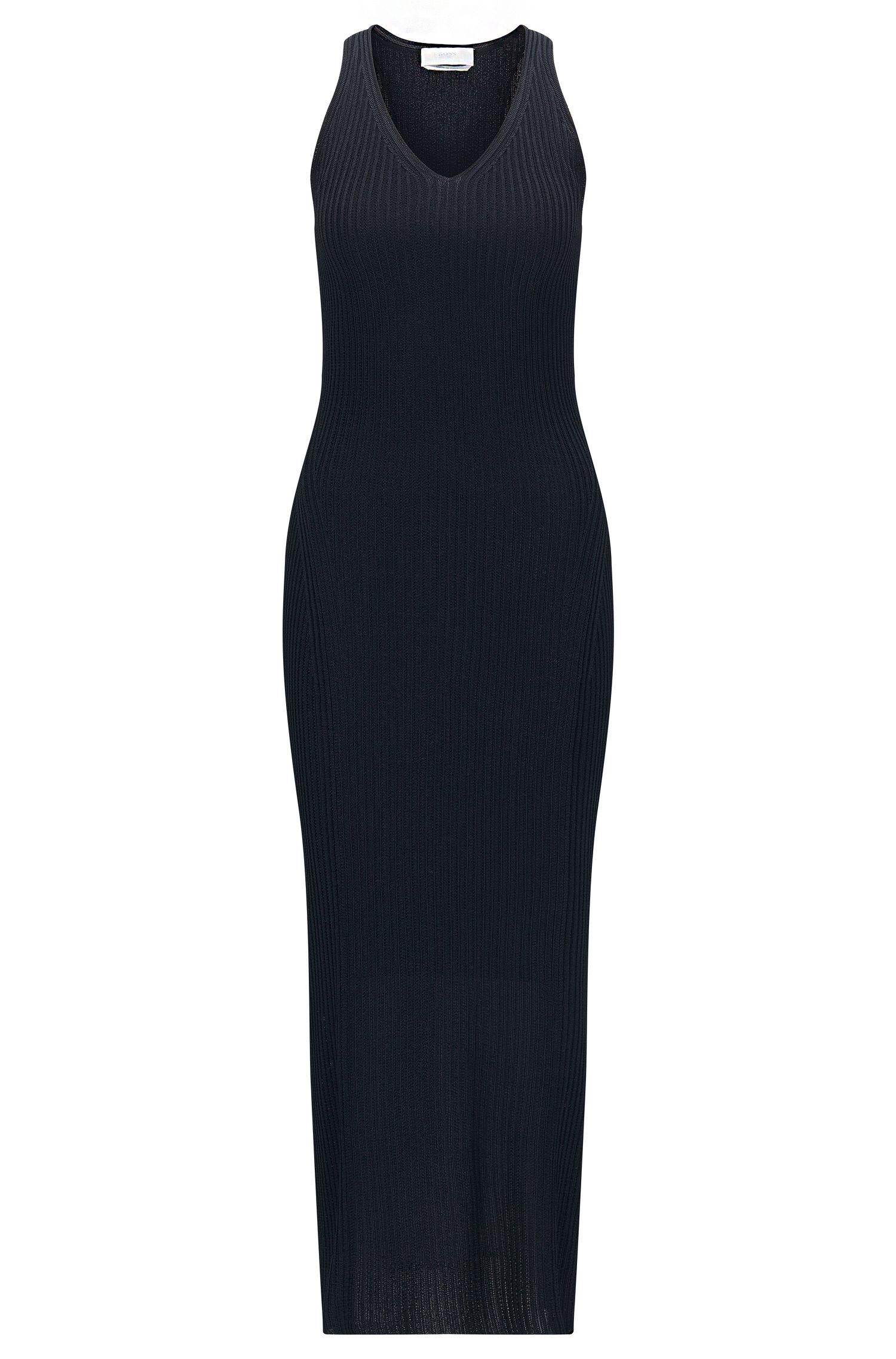 'FS_Firuza' | Ribbed Knit Sheath Dress