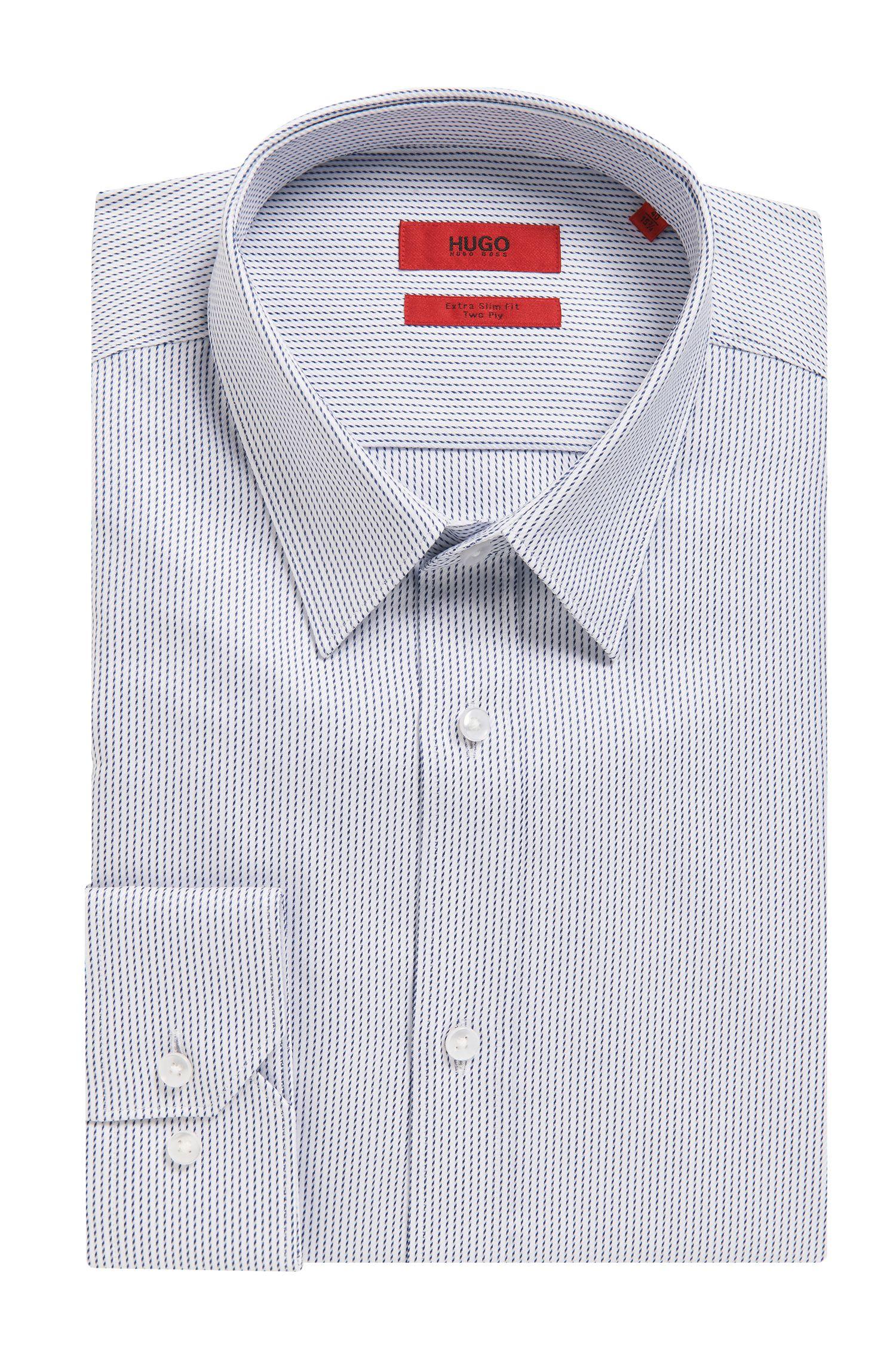 Microdot Cotton Button Down Shirt, Extra Slim Fit | Elisha
