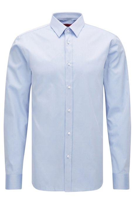 06088b98f HUGO - Two-Ply Cotton Dress Shirt, Extra Slim Fit | Elisha