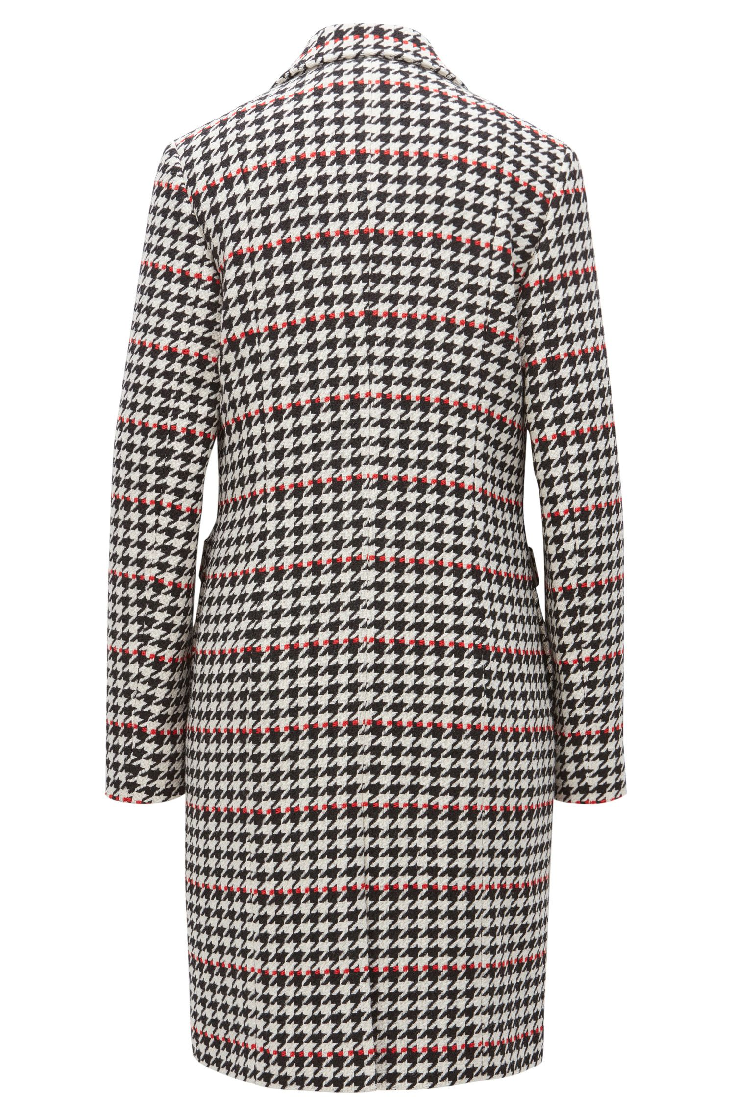 Houndstooth Coat | Cunarda, Patterned