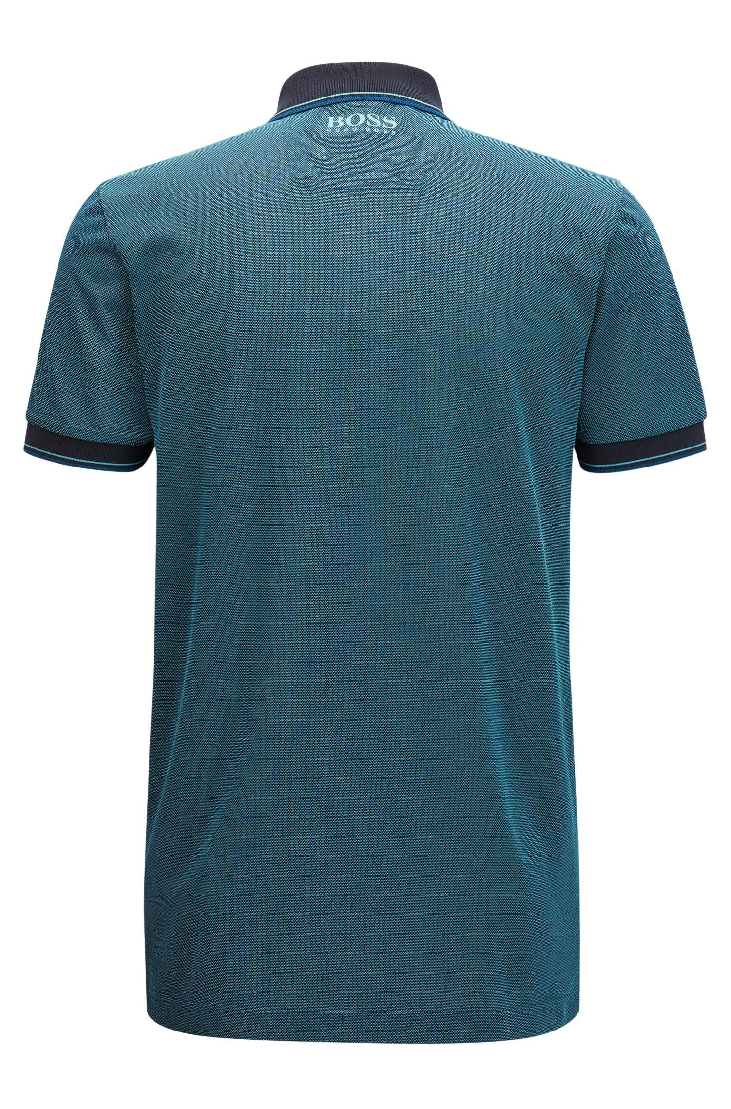 Graphic Polo Shirt, Slim Fit | Paule Pro