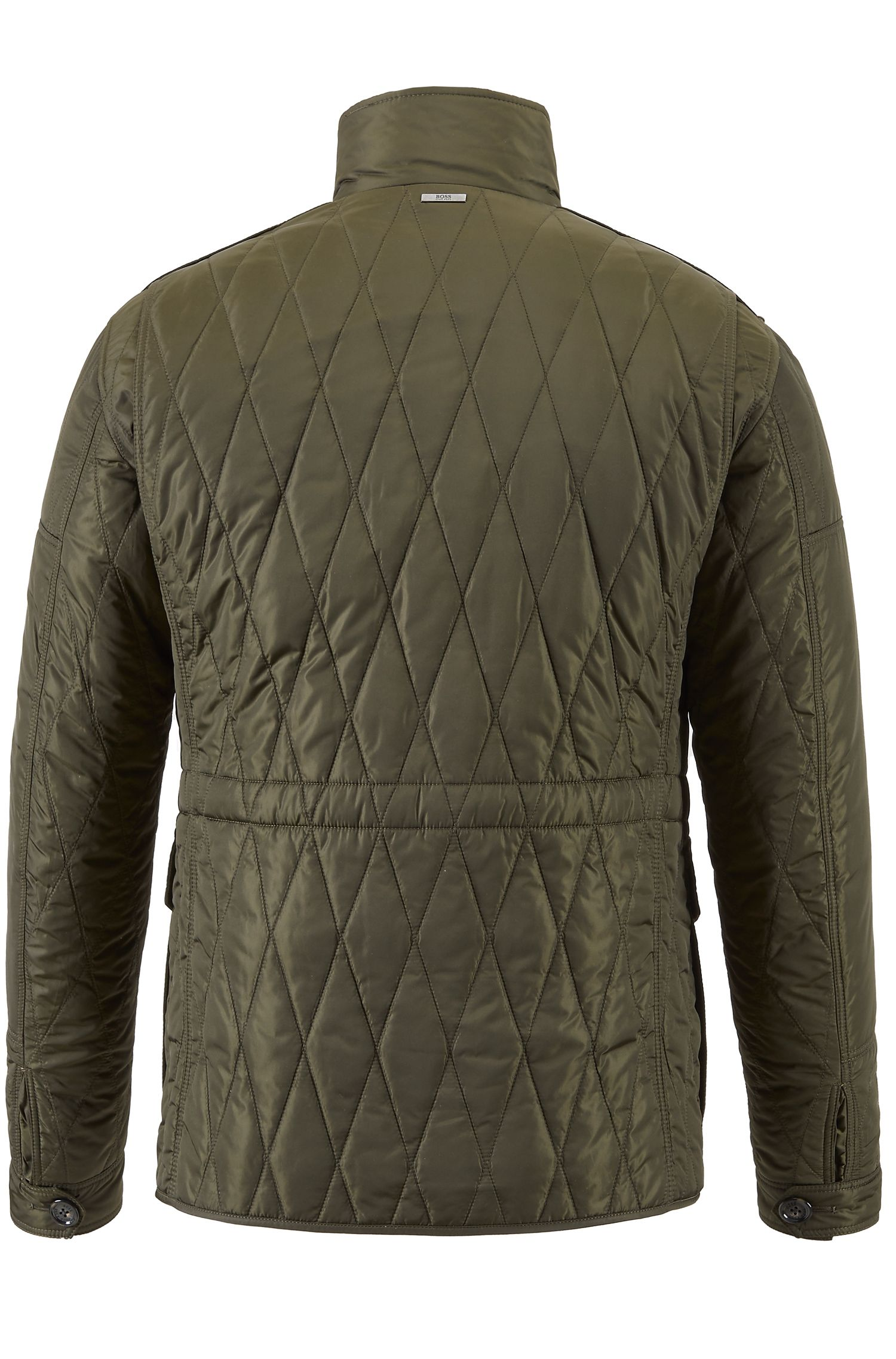 Water-Repellent Quilted Field Jacket   Cloud