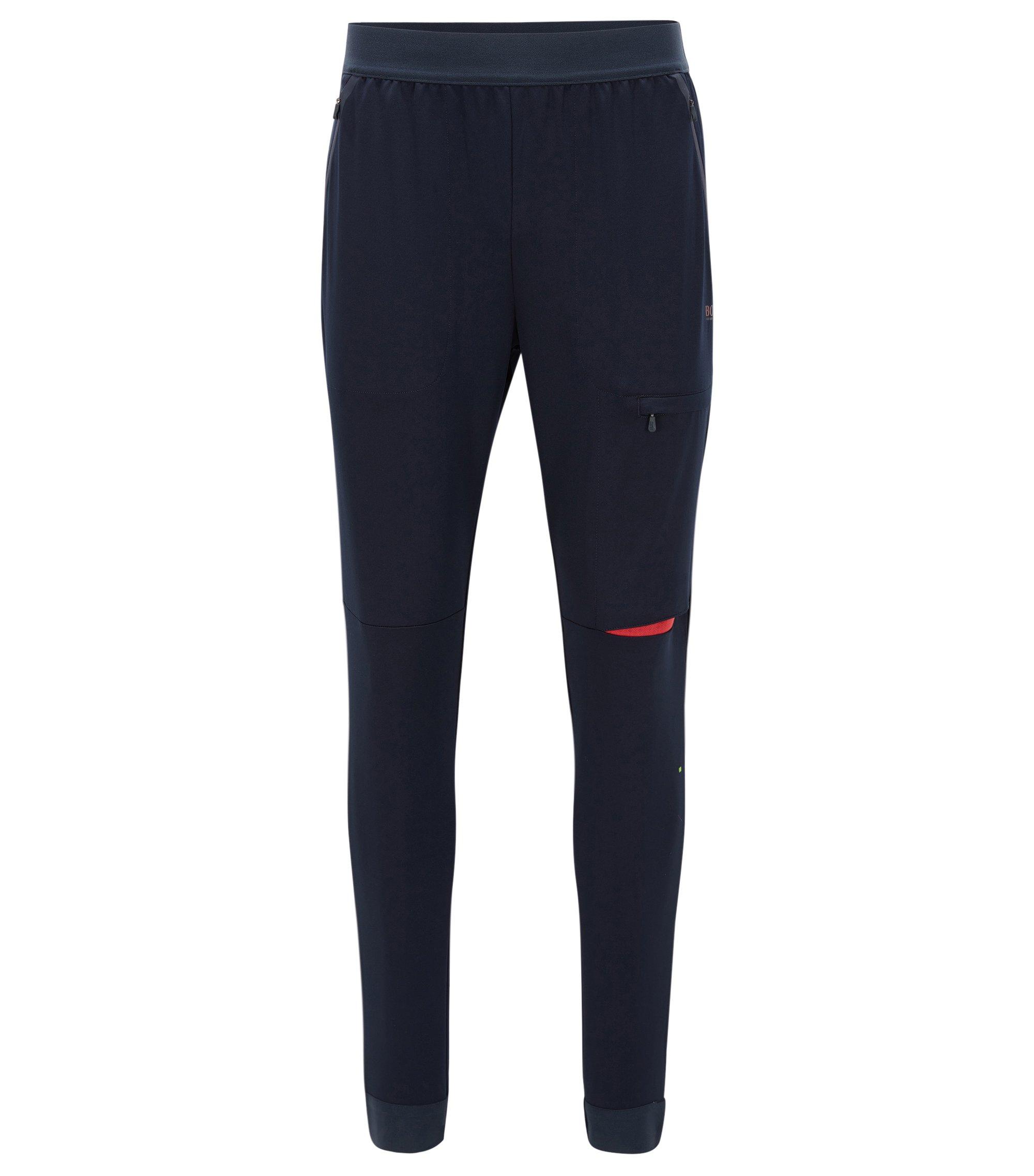 Moisture-Wicking Sweatpant, Slim Fit | Hallutech, Dark Blue
